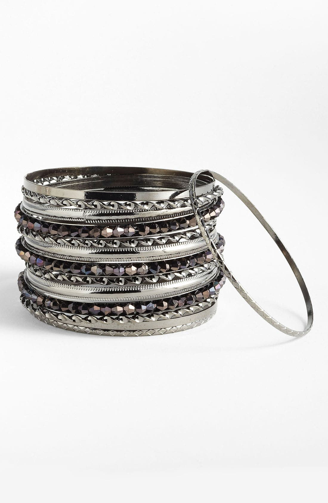 Alternate Image 1 Selected - Cara Bangles (Set of 17)
