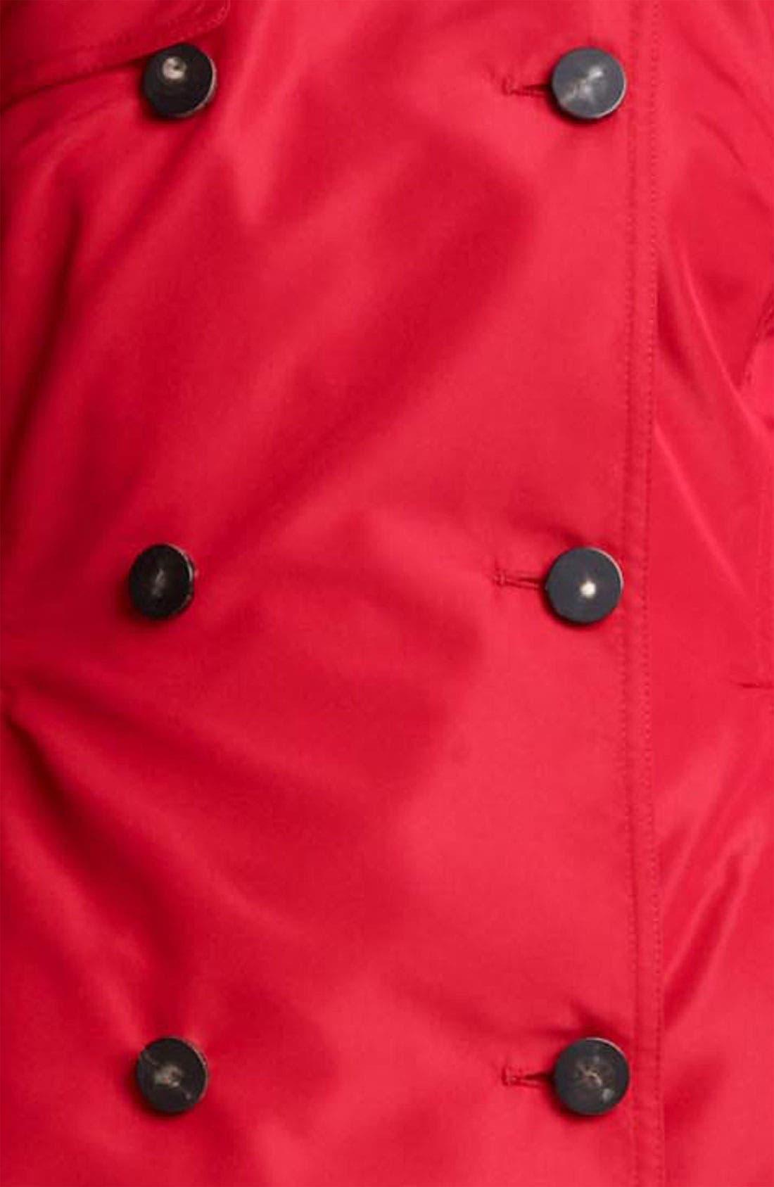 Alternate Image 3  - Valentino Bow Back Trench Coat