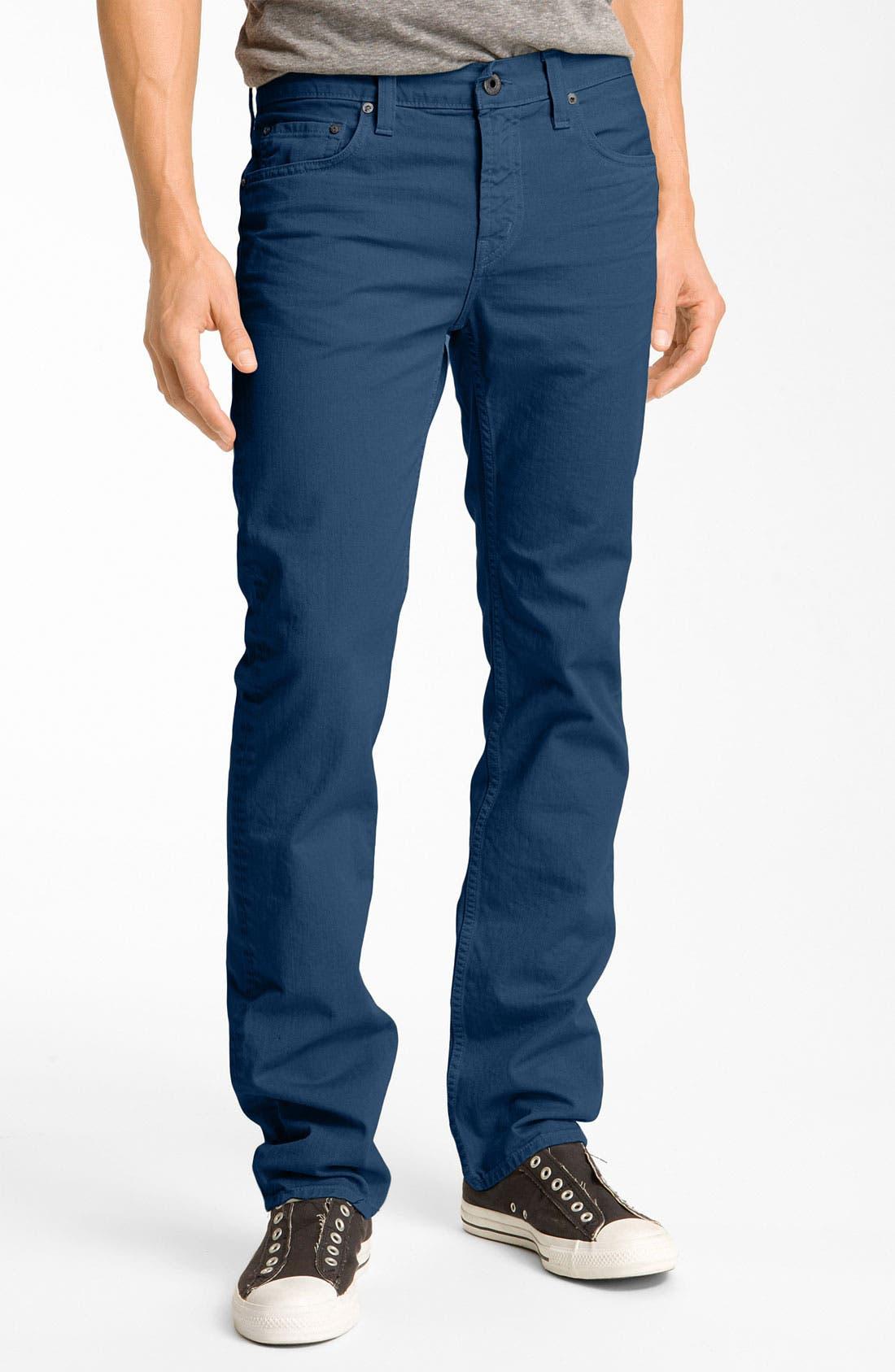 Alternate Image 2  - J Brand 'Kane' Slim Straight Leg Jeans (Crafted Monster)