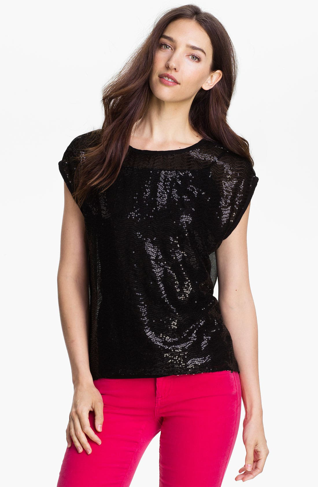 Main Image - Research & Design Sequin Front Top