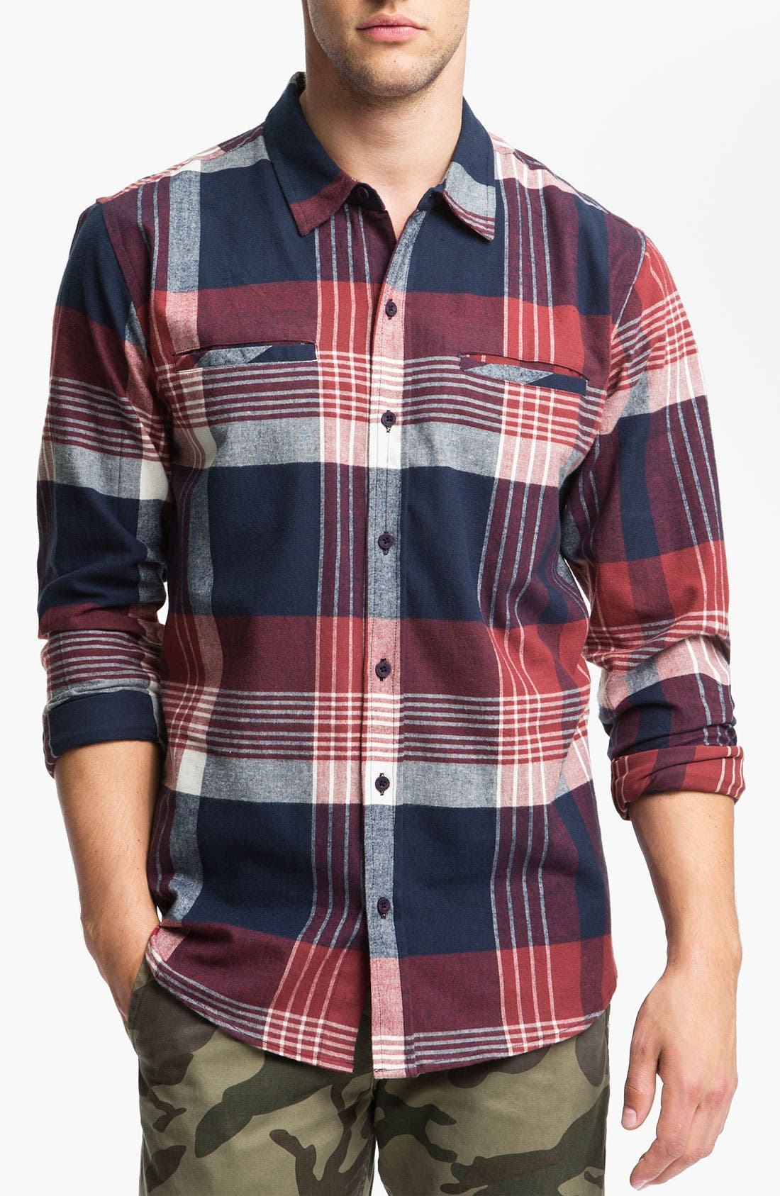 Main Image - Ezekiel 'Lakeport' Plaid Flannel Shirt