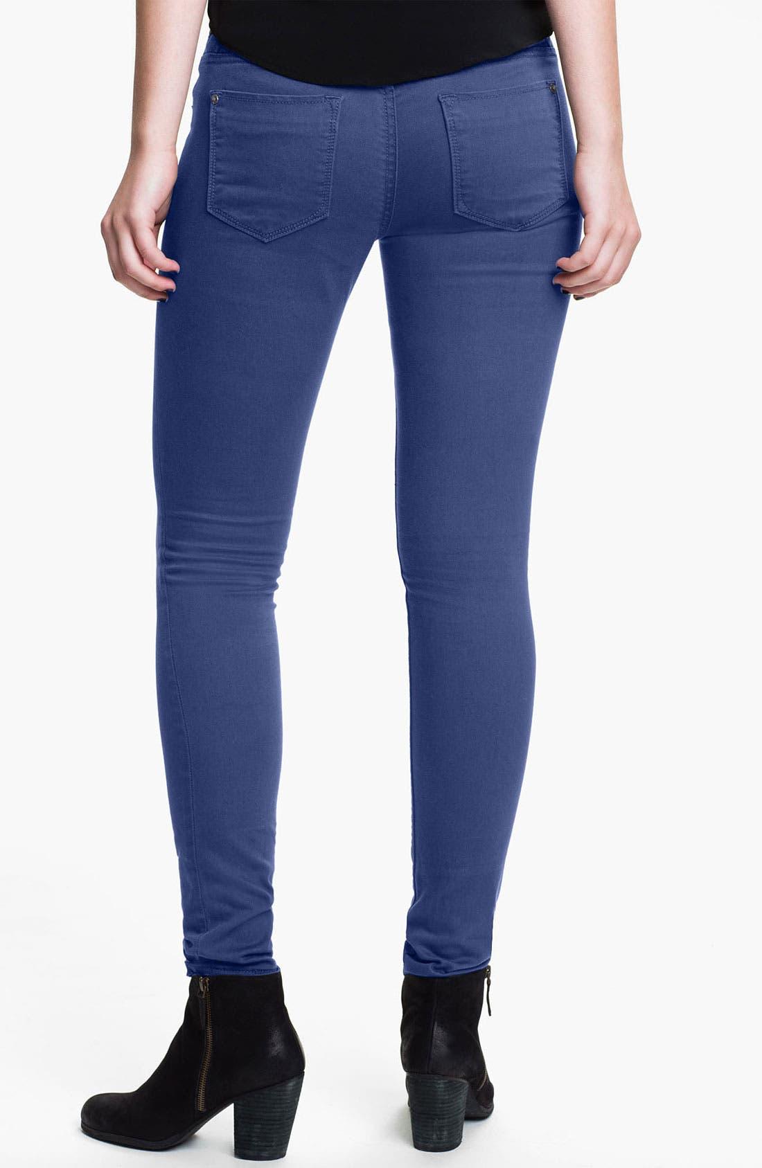 Main Image - Vigoss Color Skinny Jeans (Juniors) (Online Exclusive)