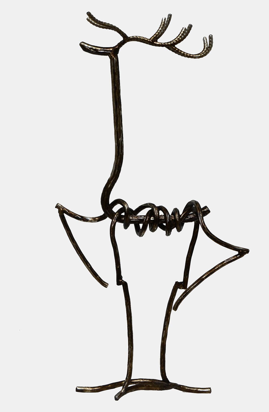 Alternate Image 1 Selected - Fantastic Craft Standing Deer Wire Figurine