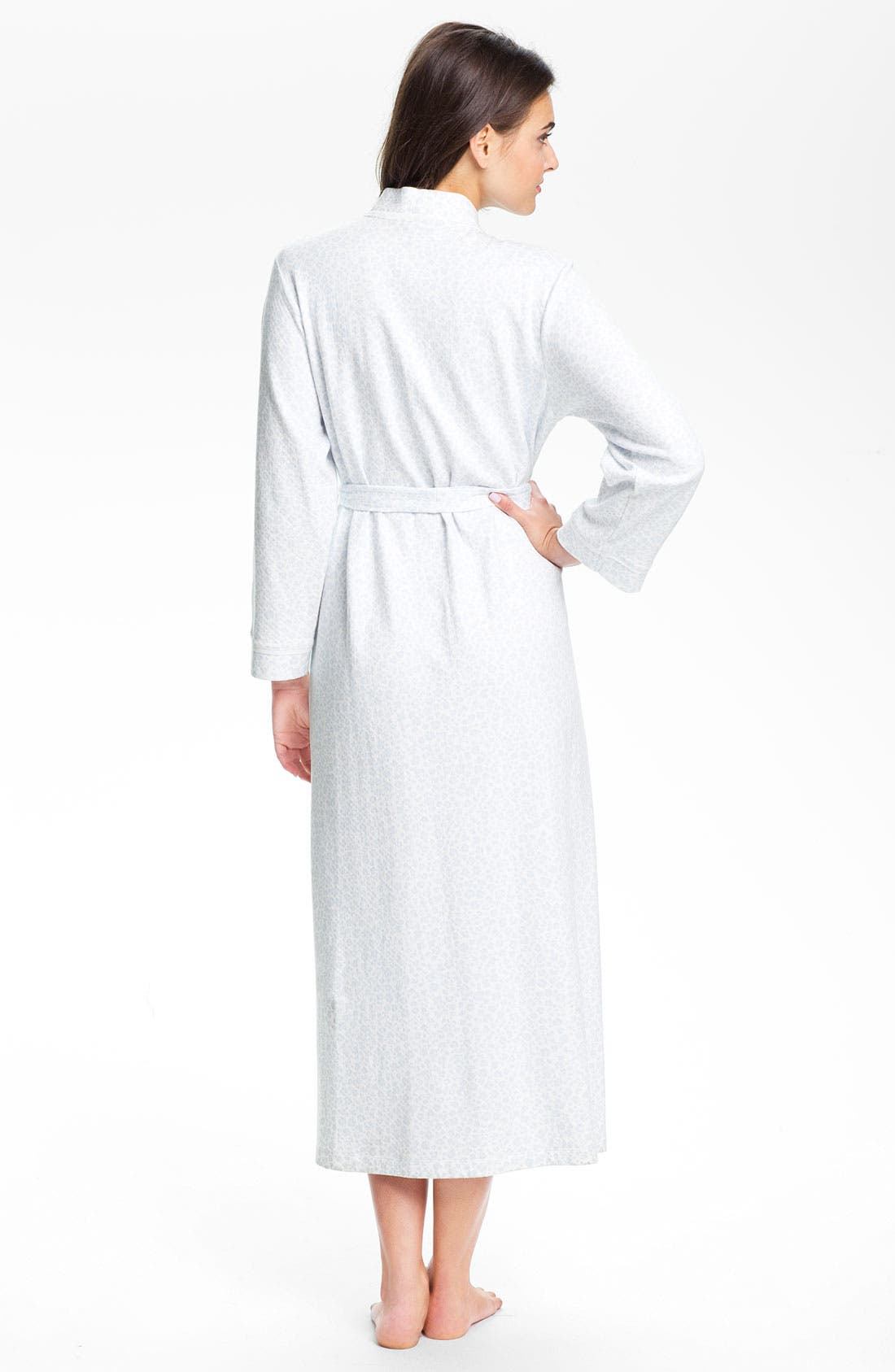 Alternate Image 2  - Carole Hochman 'Diamond' Knit Robe