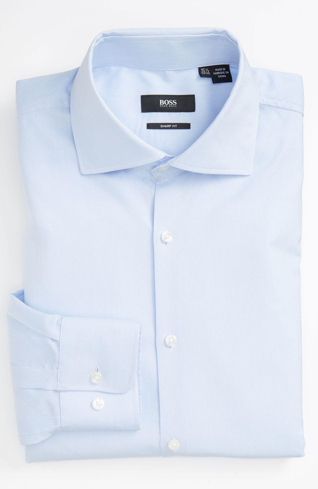 Alternate Image 1 Selected - Z Zegna Suit & BOSS Dress Shirt