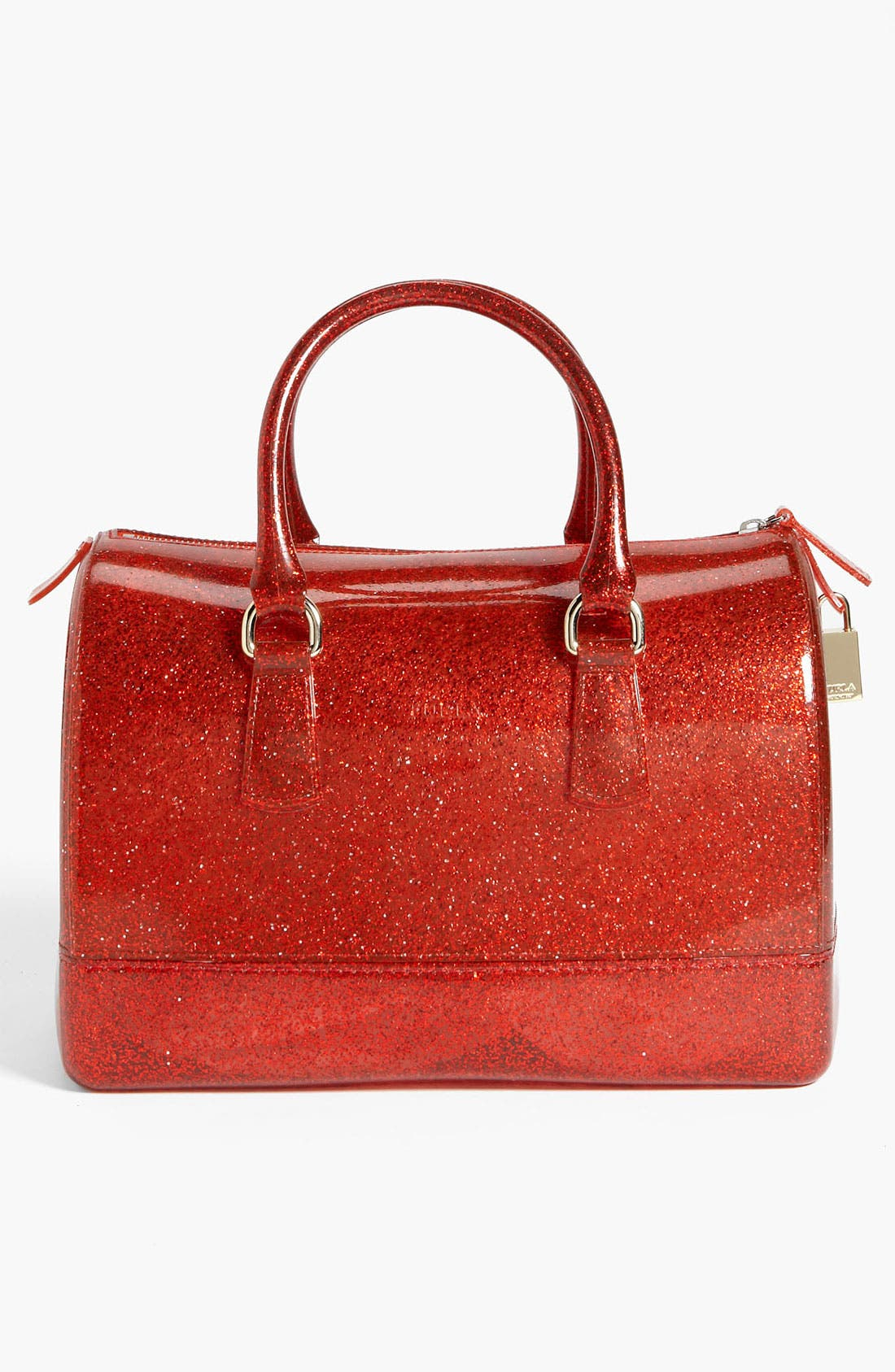 Alternate Image 4  - Furla 'Candy - Glitter' Rubber Satchel