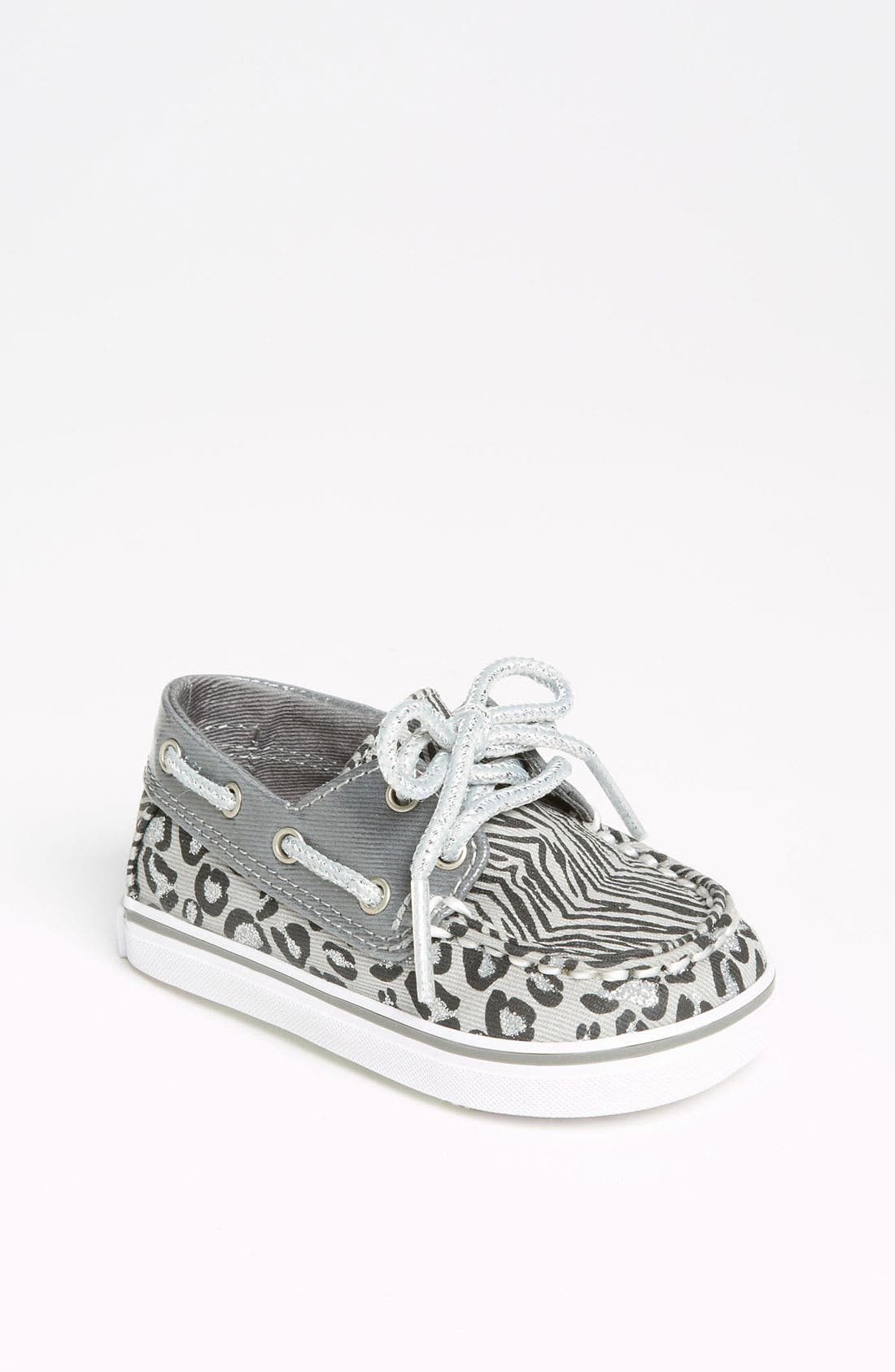 Main Image - Sperry Top-Sider® 'Bahama' Crib Shoe (Baby)