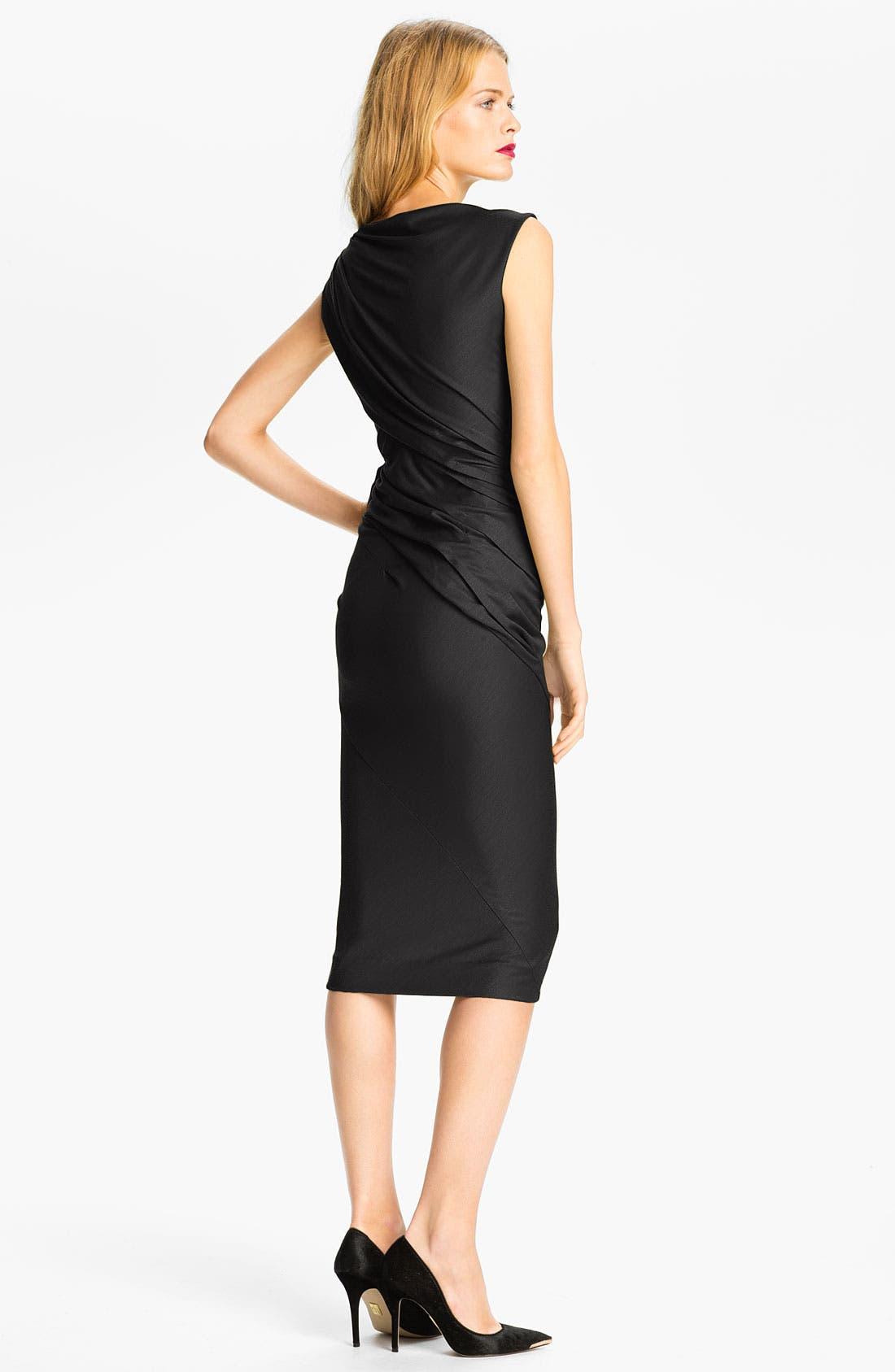 Alternate Image 2  - Diane von Furstenberg 'Gloria' Wool Midi Dress (Online Exclusive)