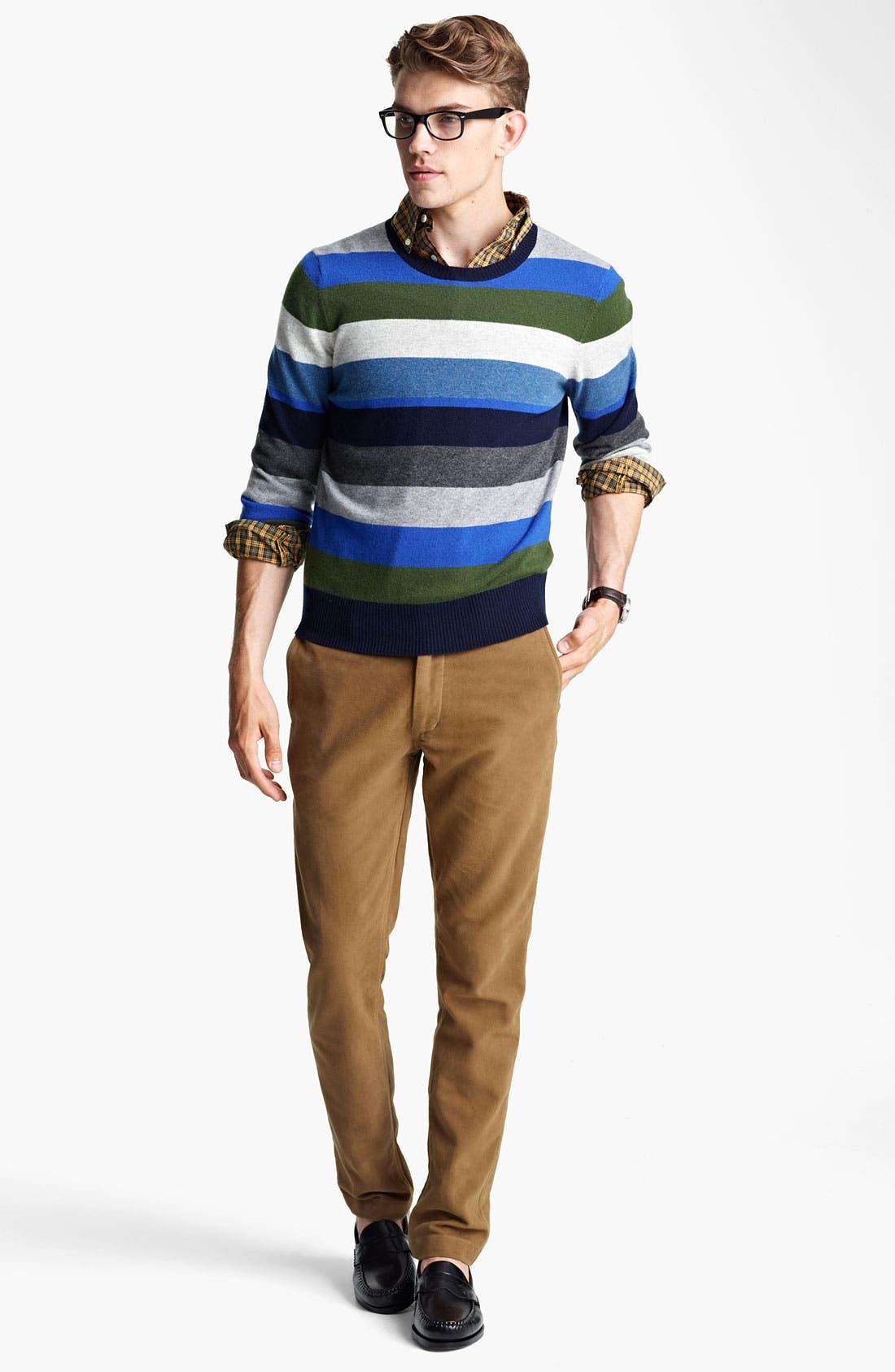 Alternate Image 4  - Jack Spade 'Page' Stripe Wool & Cashmere Sweater
