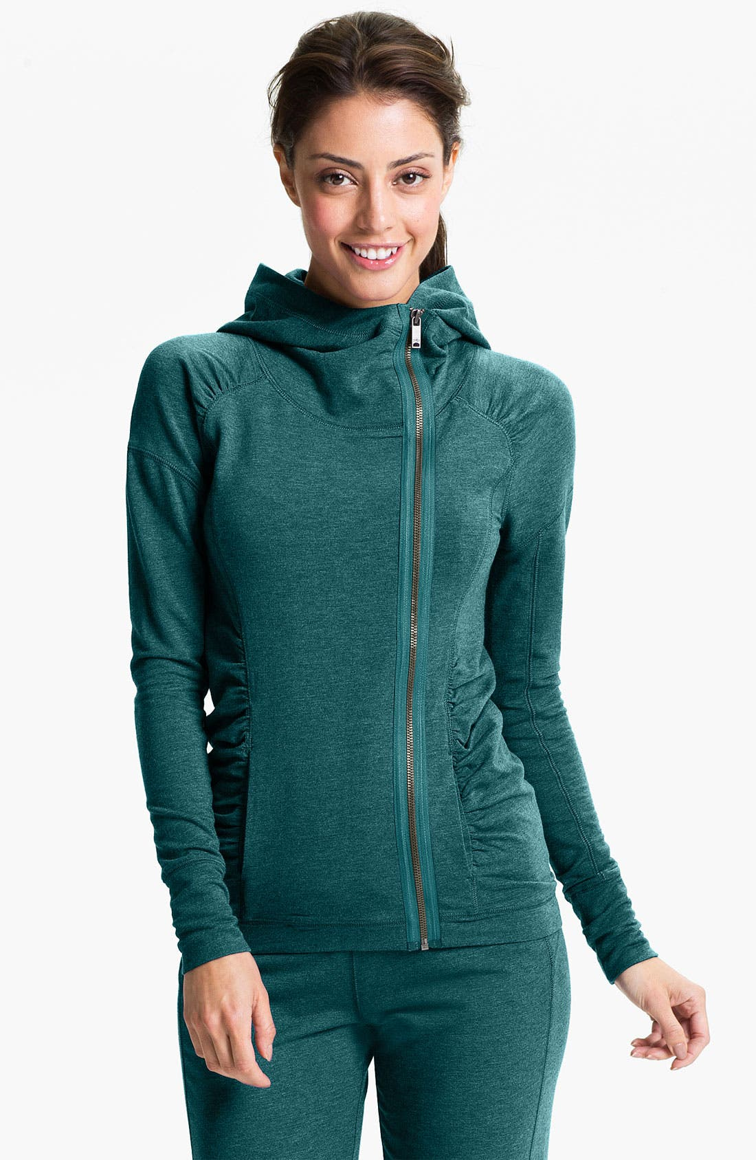 Alternate Image 1 Selected - Zella 'Fireside' Zip Front Jacket