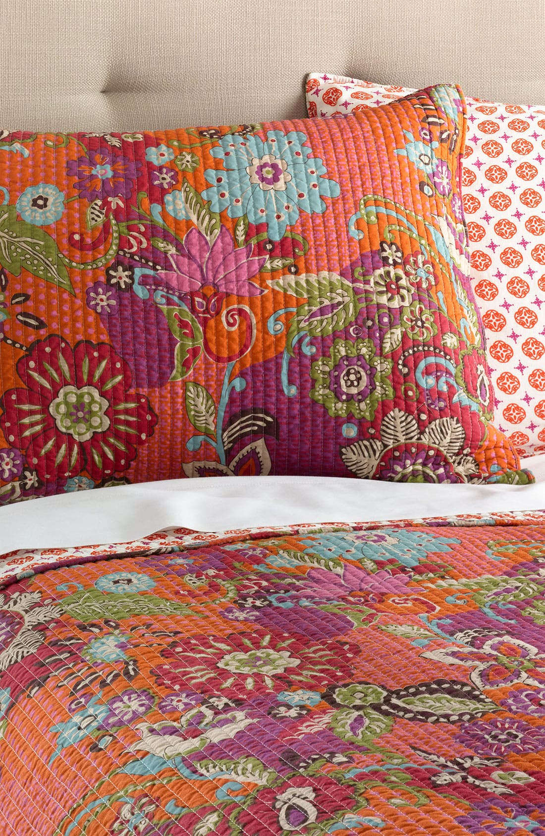 Alternate Image 1 Selected - Levtex 'Shinjuku' Quilted Pillow Sham