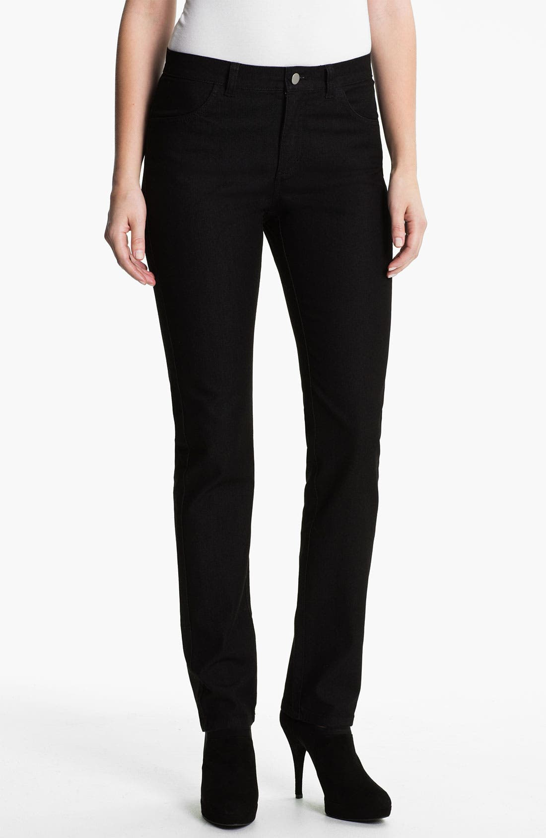 Alternate Image 1 Selected - Lafayette 148 New York Curvy Fit Jeans (Regular & Petite)
