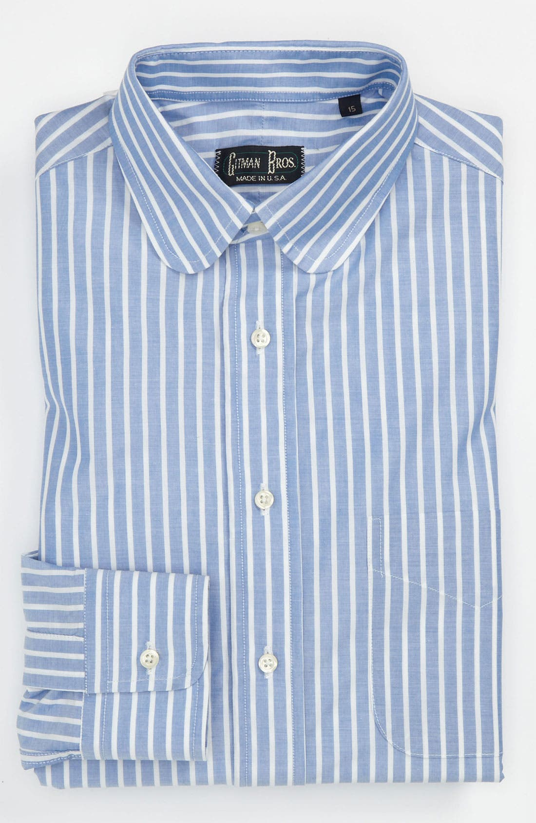 Main Image - Gitman Trim Fit Dress Shirt