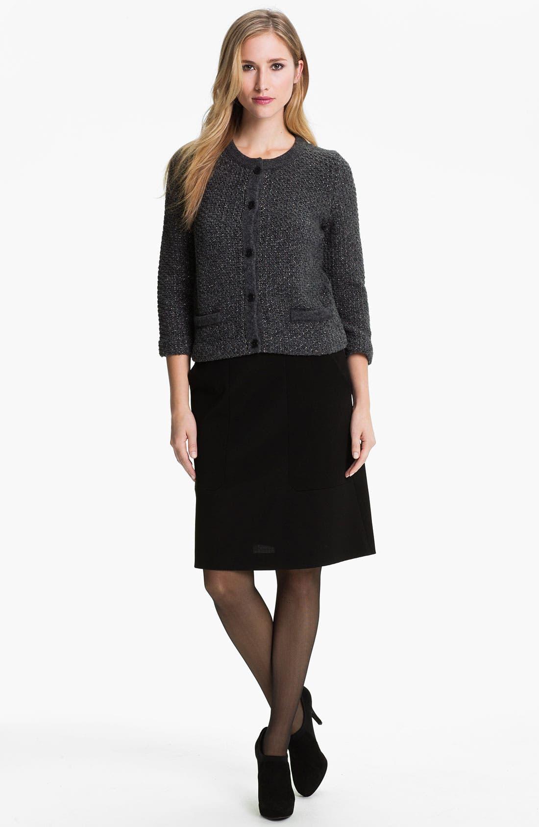 Alternate Image 4  - BOSS Black 'Meredis' Skirt