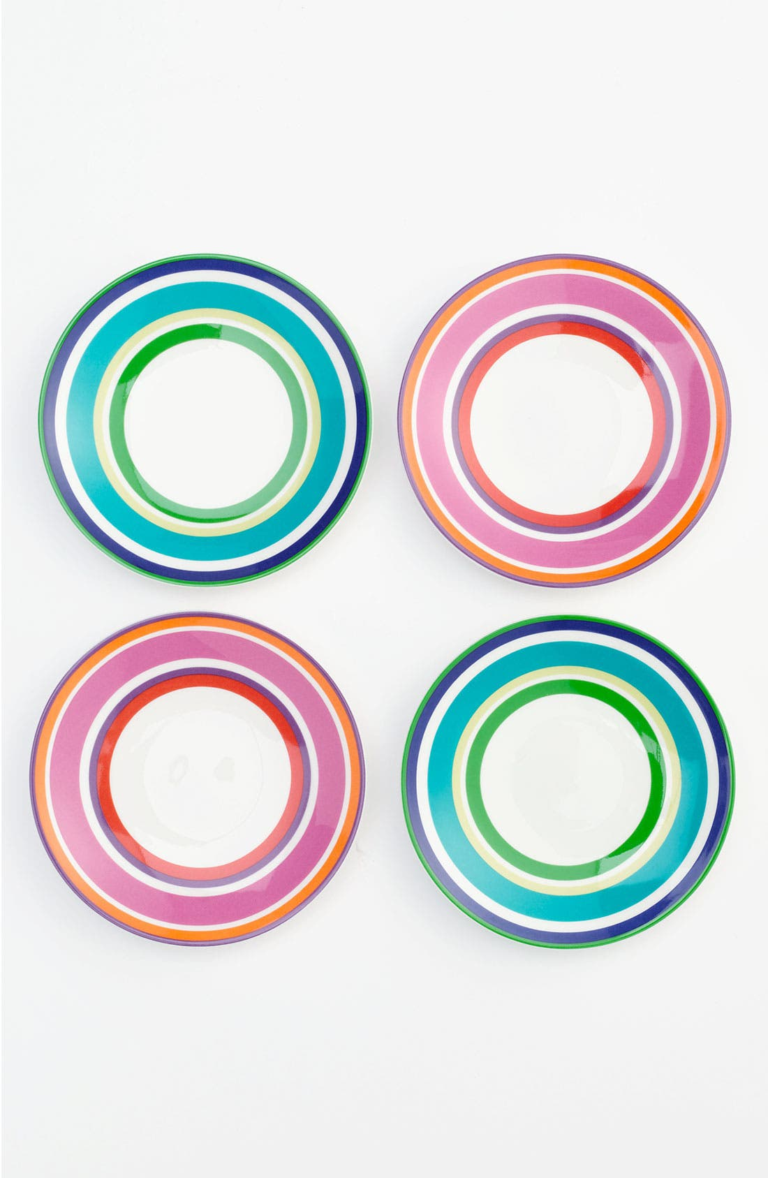Main Image - kate spade new york 'say the word' tidbits plates (set of 4)