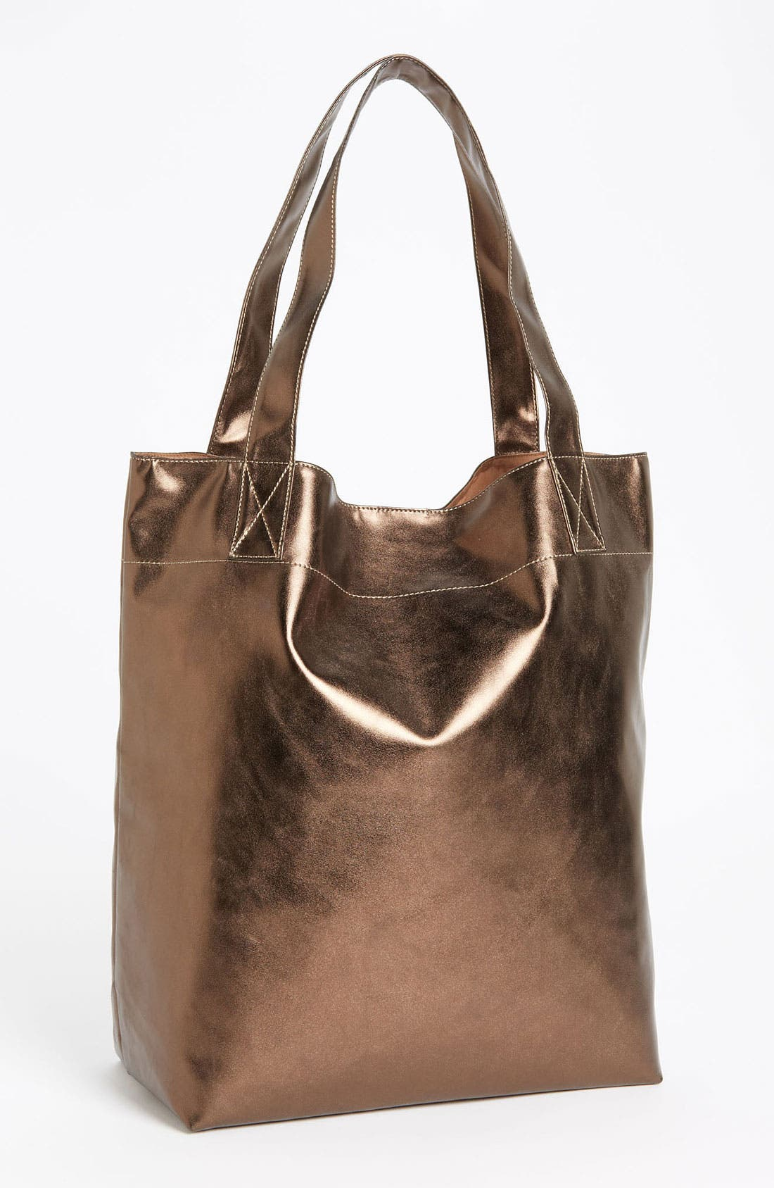 Alternate Image 1 Selected - Cesca Metallic Tote