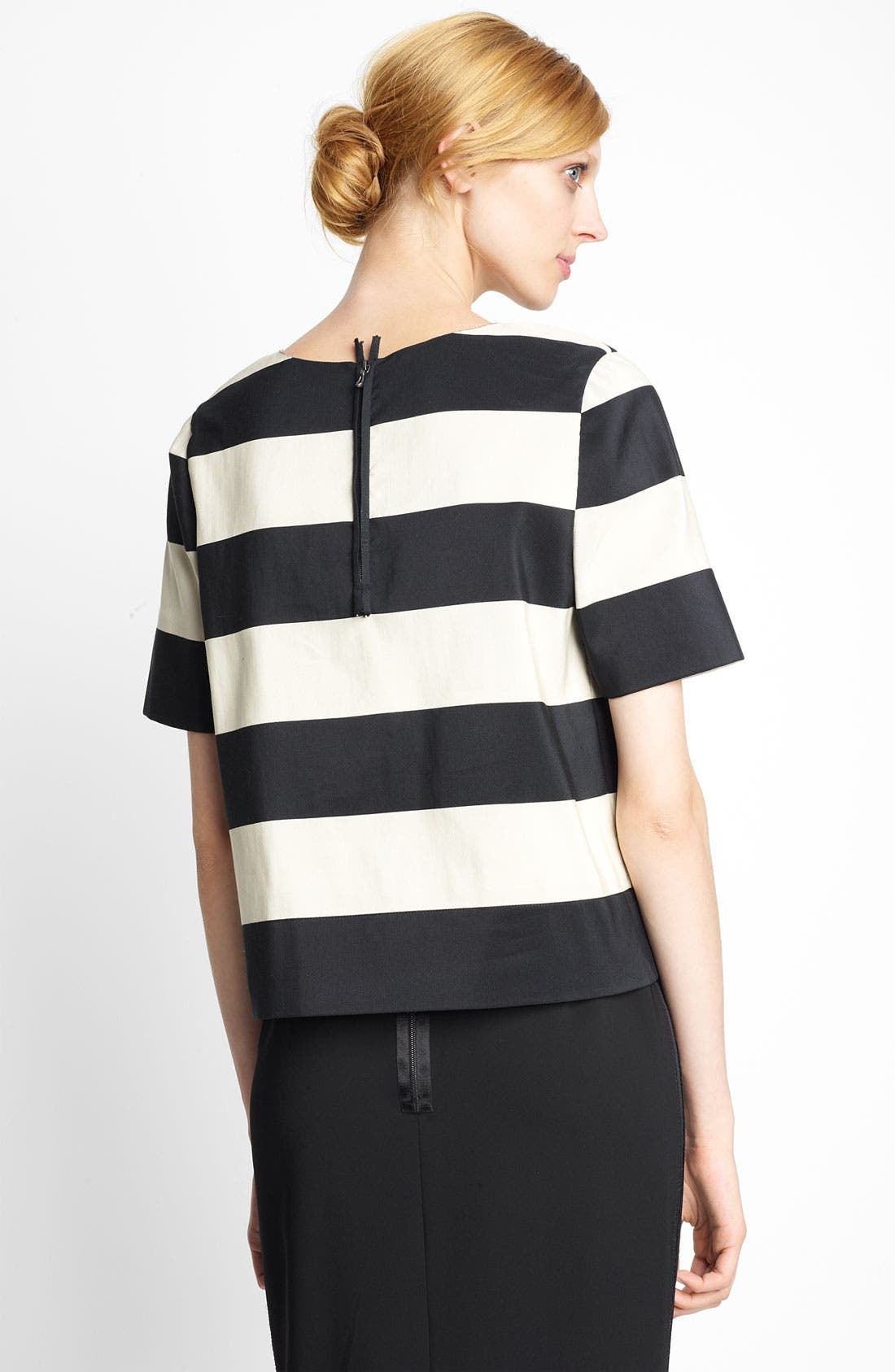 Alternate Image 2  - Lanvin Stripe Cotton Top