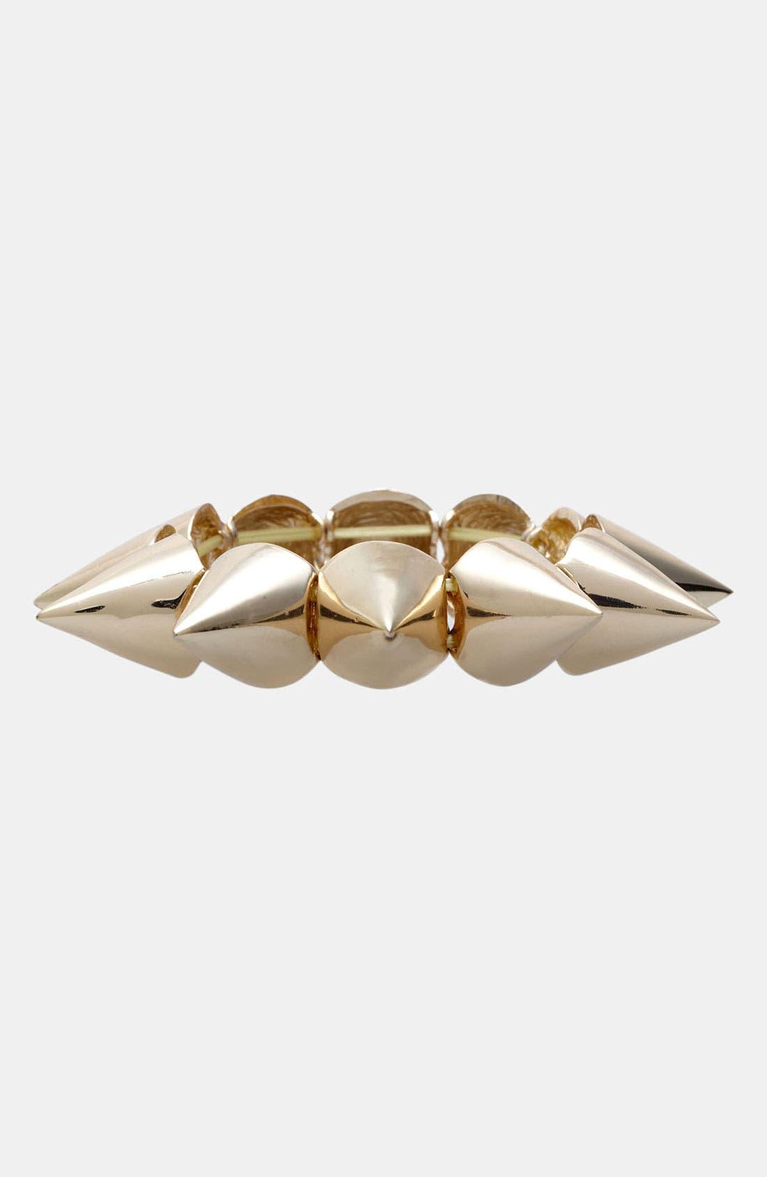 Alternate Image 1 Selected - BP. Cone Stud Stretch Bracelet