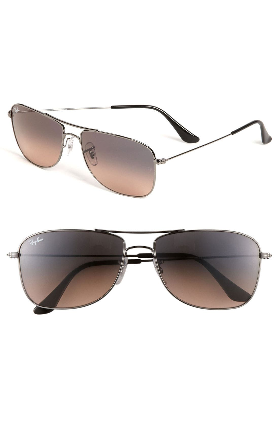 Alternate Image 1 Selected - Ray-Ban 'M Mod Caravan' 59mm Aviator Sunglasses