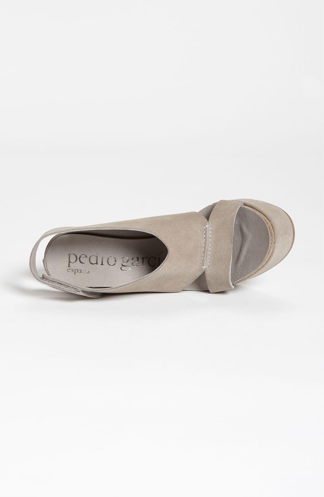 Alternate Image 3  - Pedro Garcia 'Tamesis' Velour Sandal