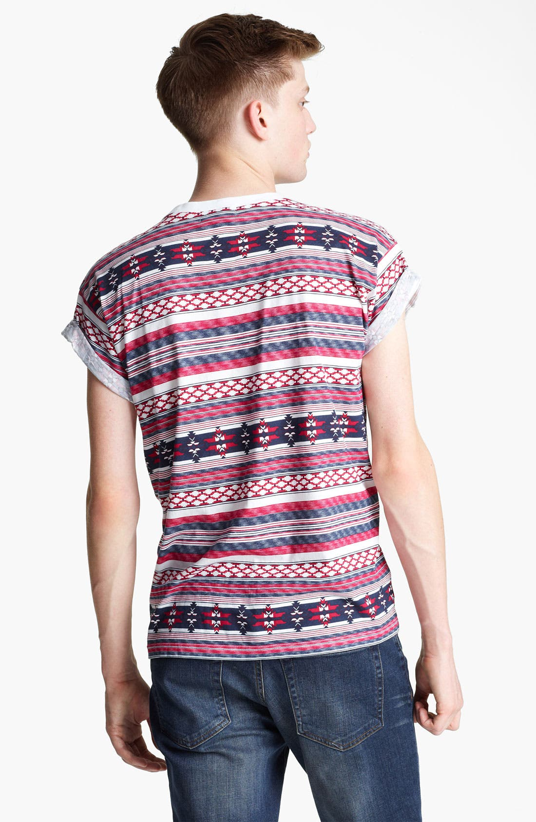 Alternate Image 2  - Topman Pattern T-Shirt