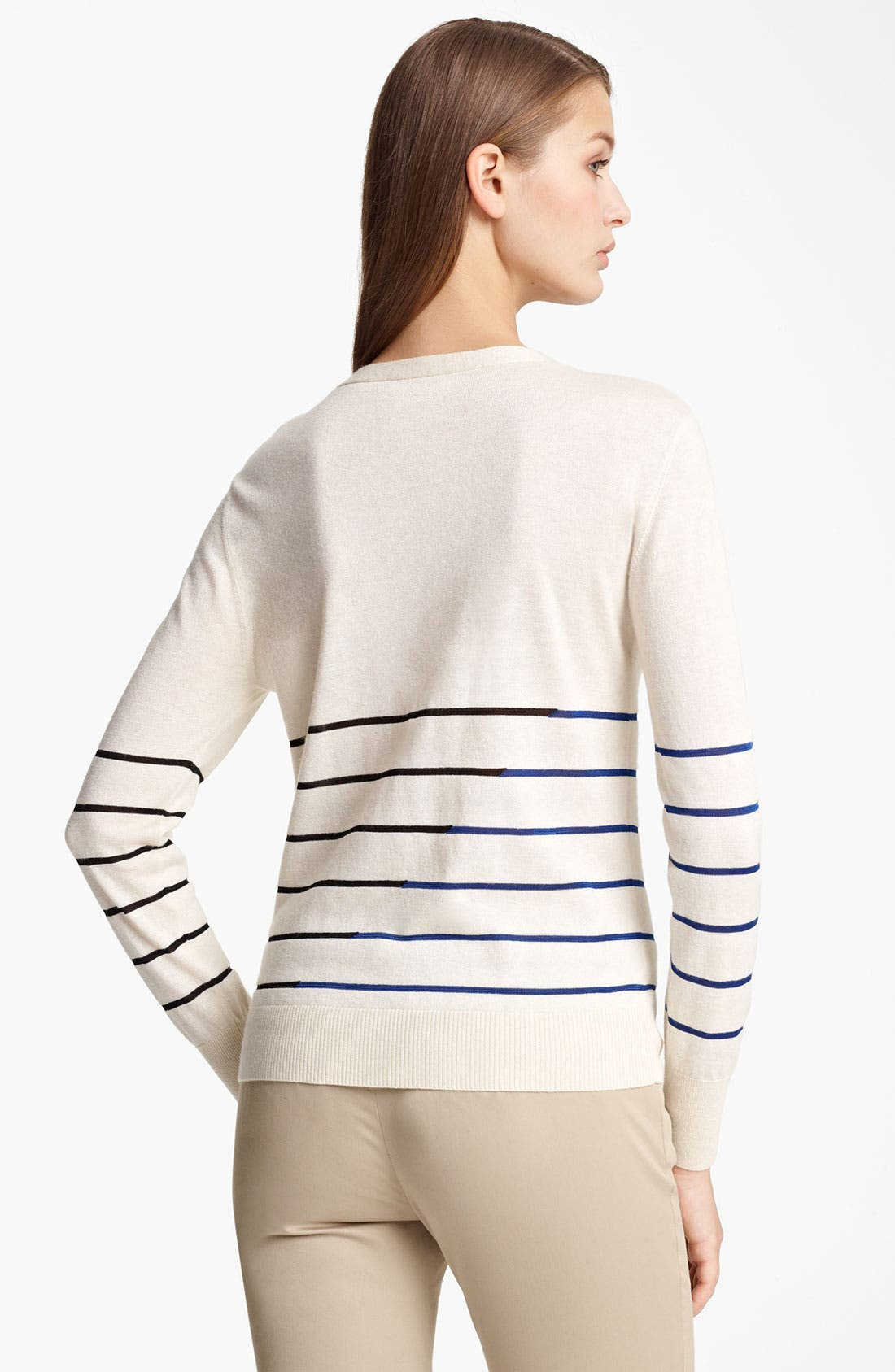 Alternate Image 2  - Band of Outsiders Stripe Cardigan