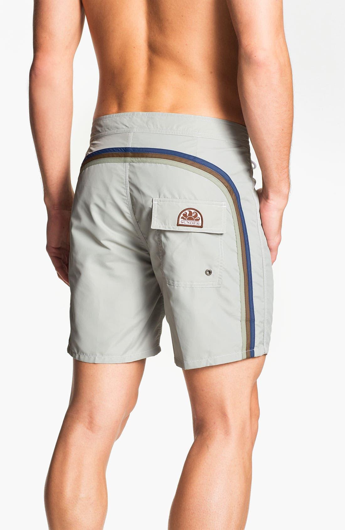 Alternate Image 1 Selected - Sundek Volley Swim Shorts (Men) (Online Only)