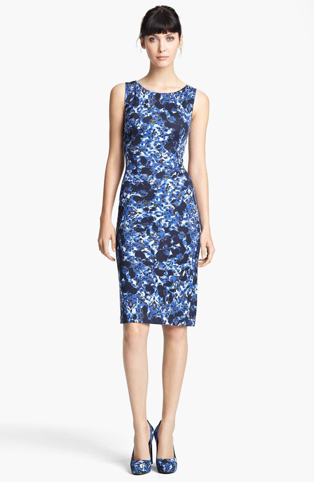Alternate Image 1 Selected - Erdem Swirl Print Jersey Dress