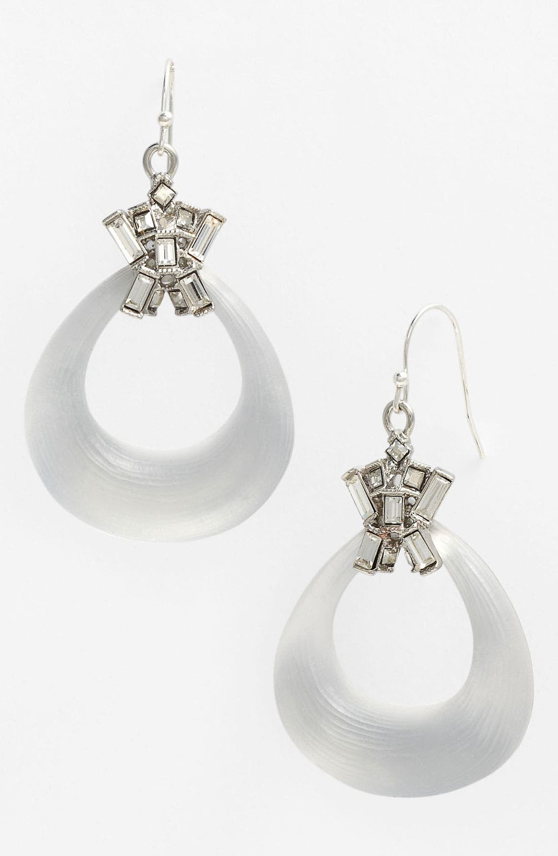 Alternate Image 1 Selected - Alexis Bittar 'Teatro Moderne' Drop Hoop Earrings