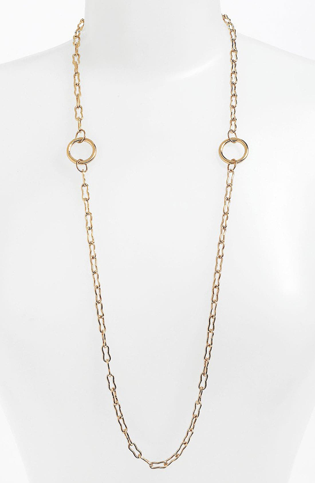 Alternate Image 1 Selected - Kelly Wearstler Bent Link Ring Necklace