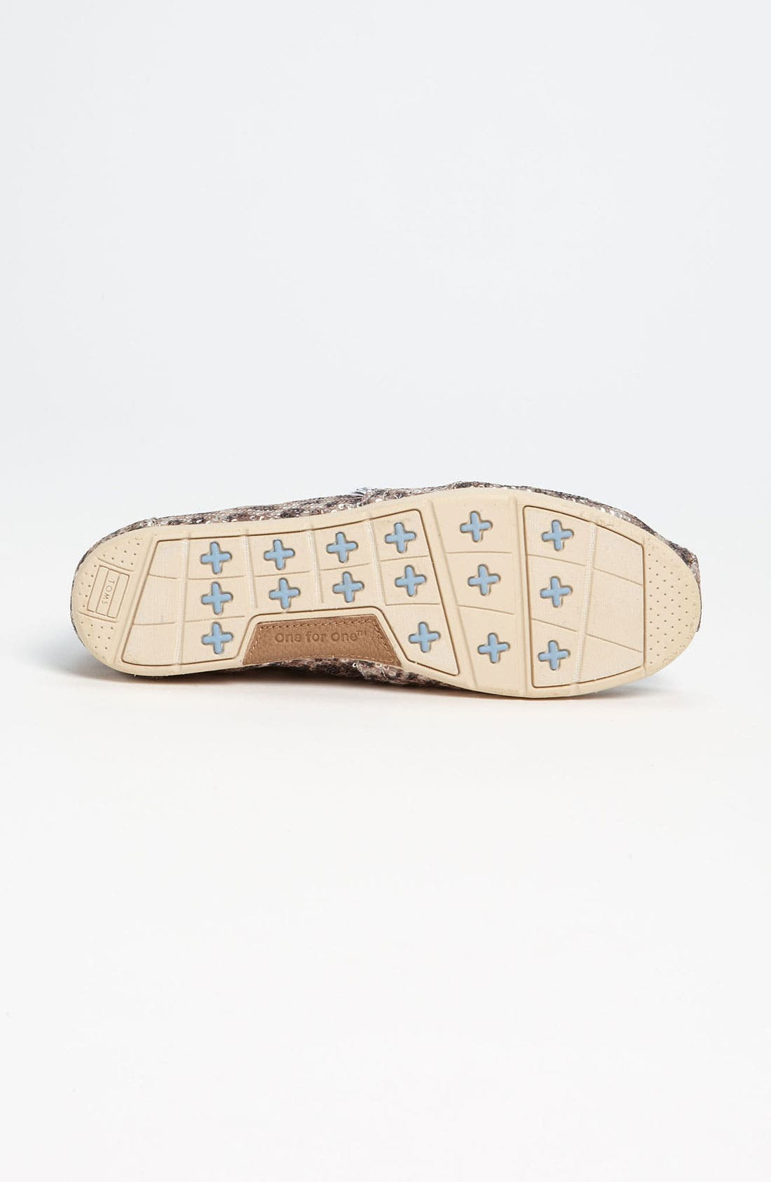 Alternate Image 4  - TOMS+ 'Classic - Gold' Slip-On (Women)