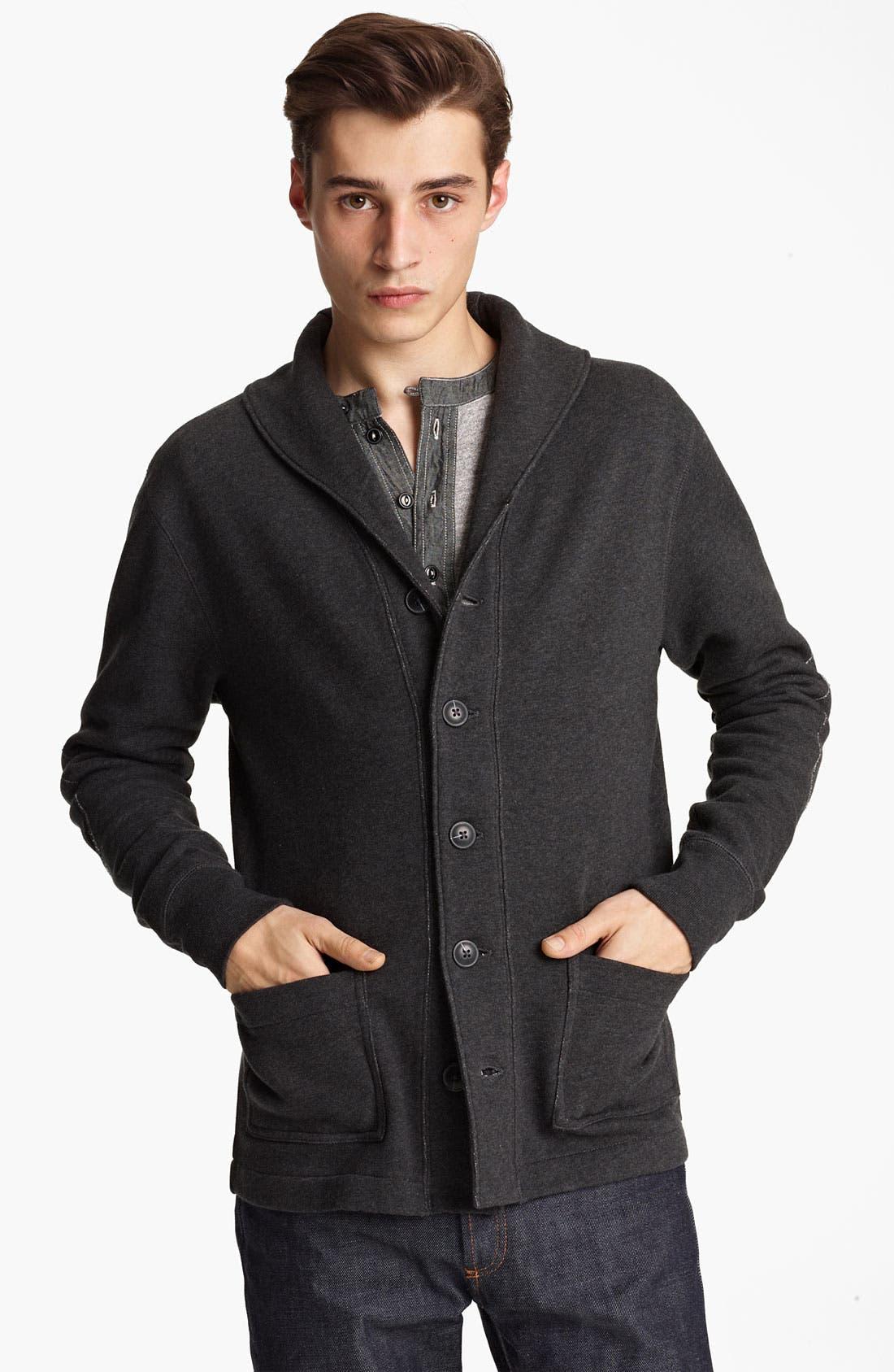 Alternate Image 1 Selected - Grayers Shawl Collar Button Cardigan