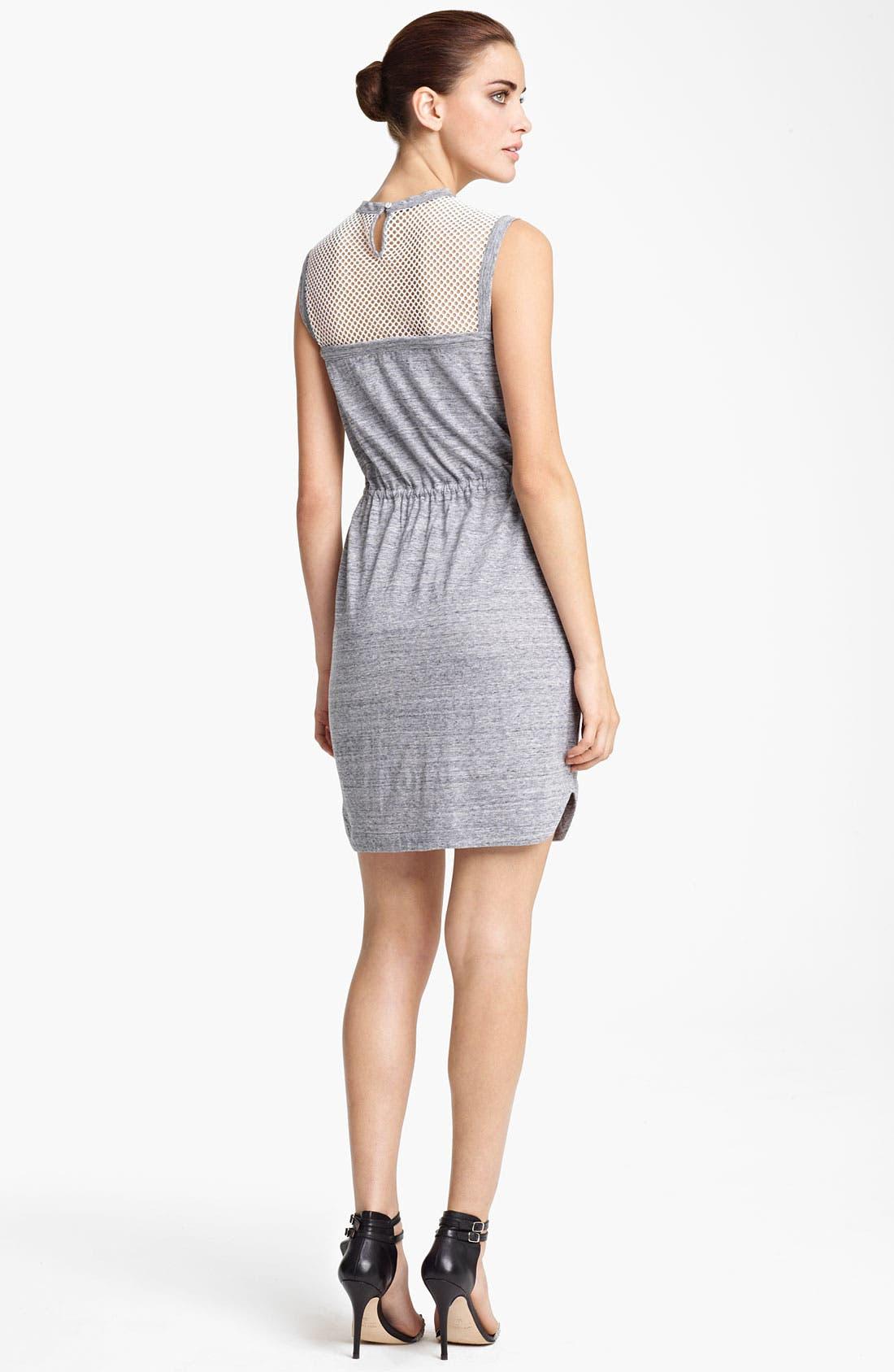 Alternate Image 2  - Yigal Azrouël Sleeveless Jersey Dress