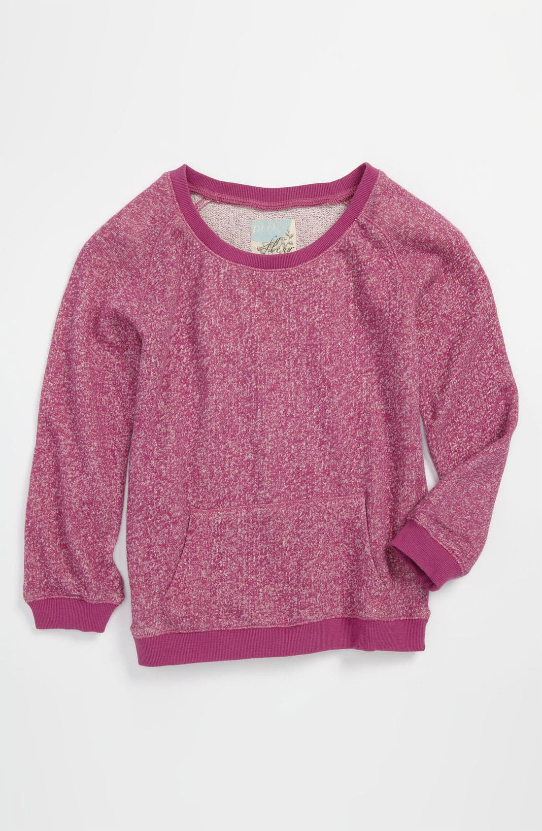 Alternate Image 1 Selected - Peek Crewneck Sweater (Toddler, Little Girls & Big Girls)