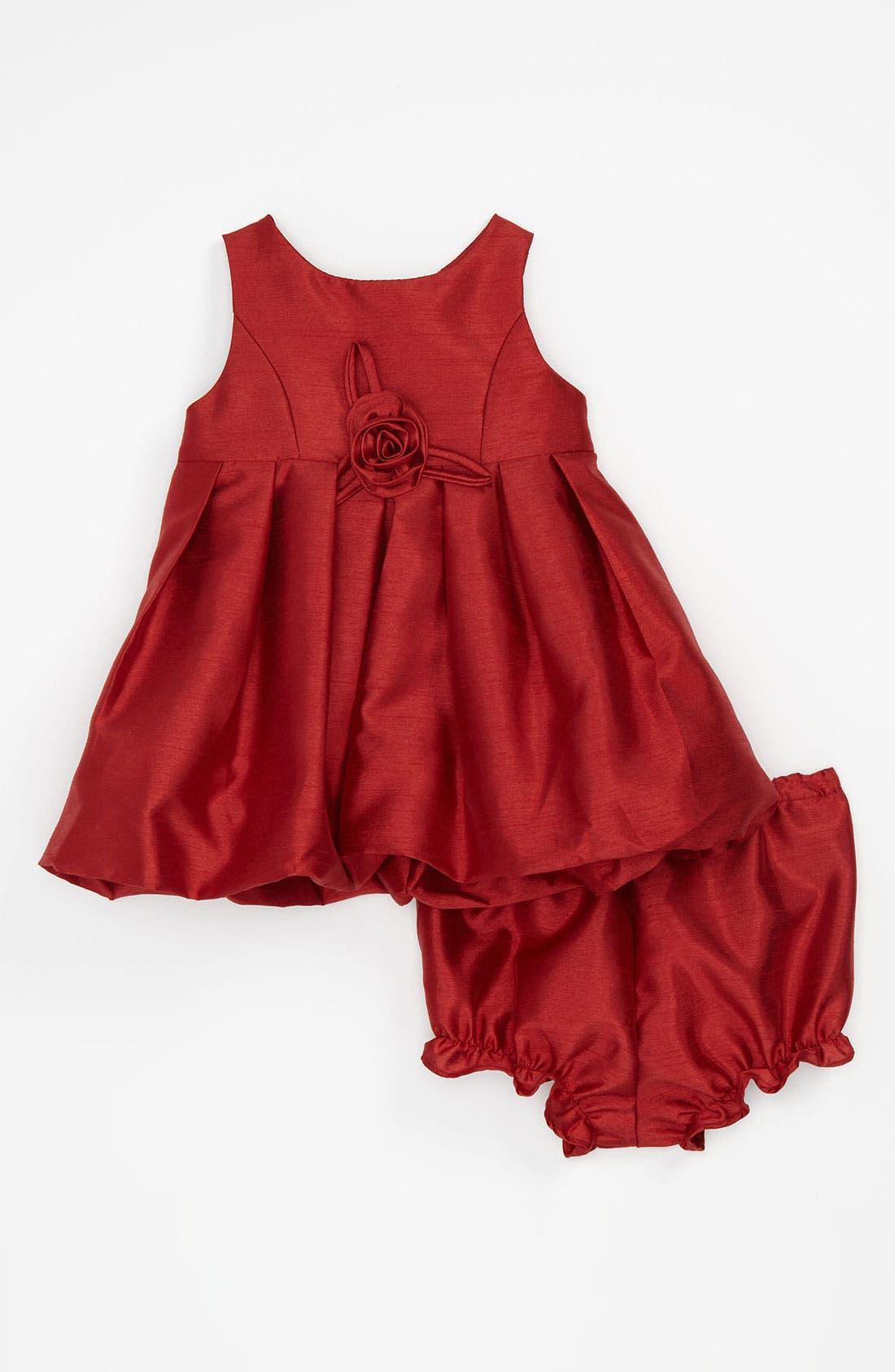 Alternate Image 1 Selected - Pippa & Julie Shantung Bubble Dress (Infant)