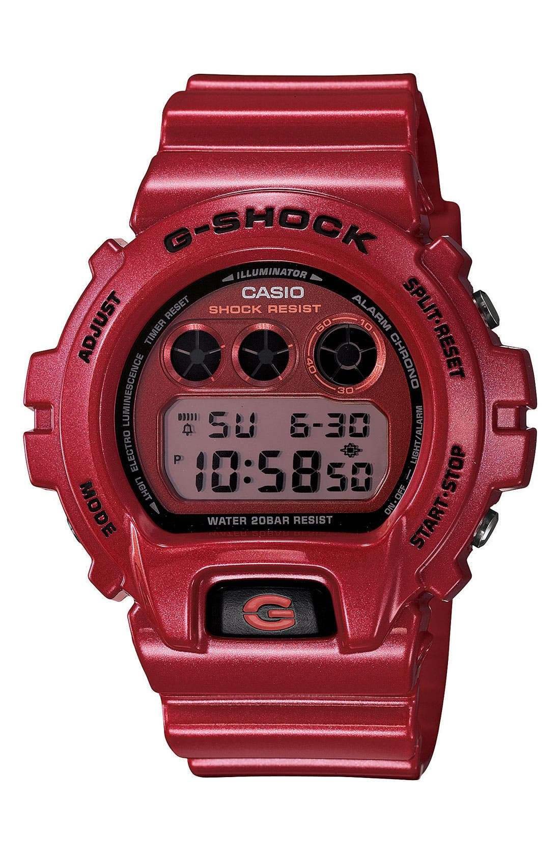 Main Image - G-Shock Metallic Dial Watch, 53mm x 50mm