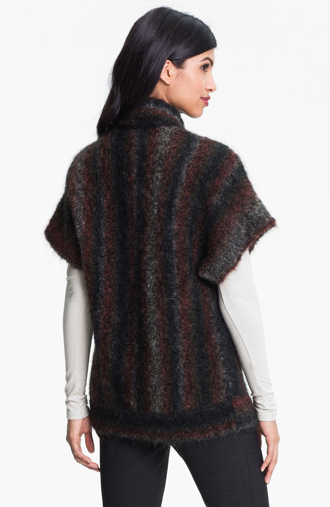 Alternate Image 2  - Nordstrom Collection 'Bizet' Open Cardigan
