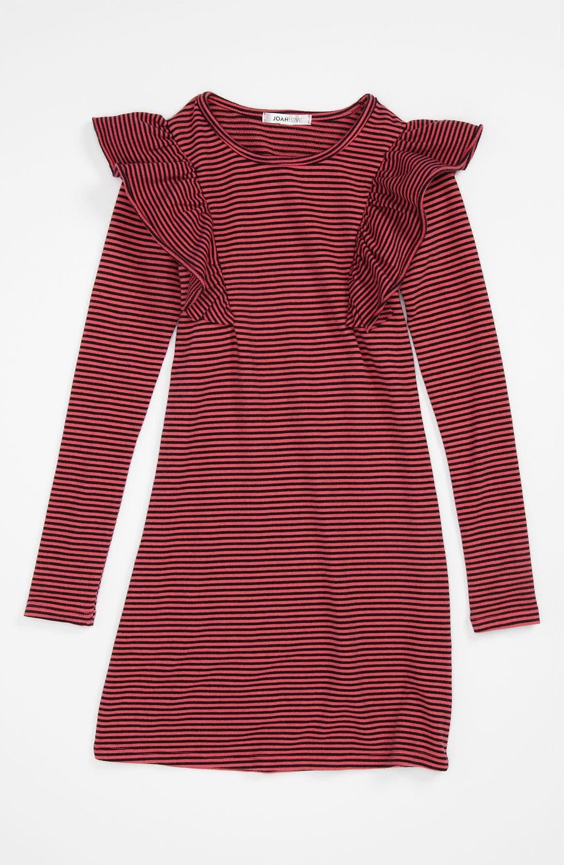 Alternate Image 1 Selected - Joah Love Stripe Mod Dress (Little Girls & Big Girls)