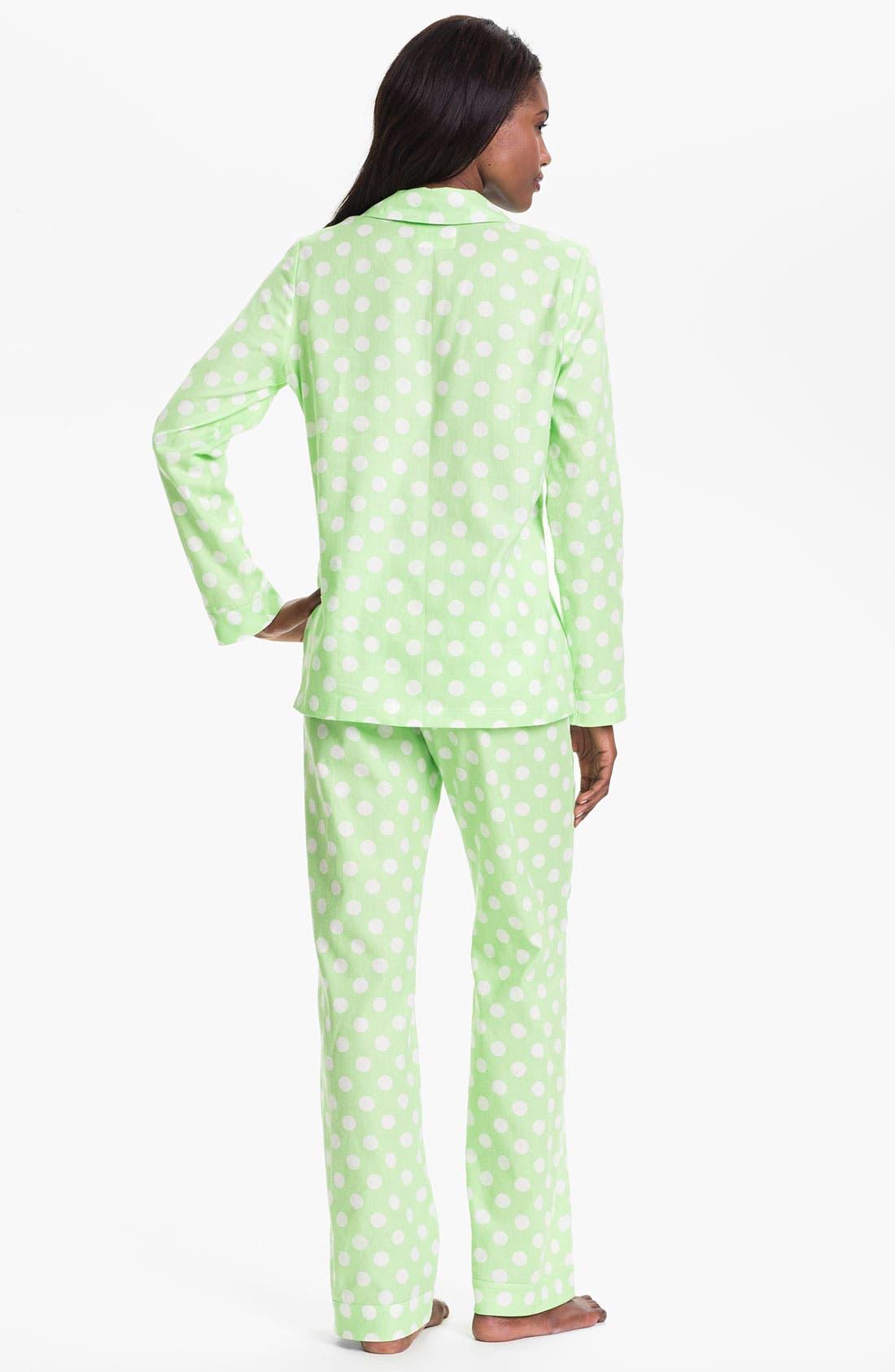 Alternate Image 2  - Nordstrom 'Pretty' Flannel Pajamas