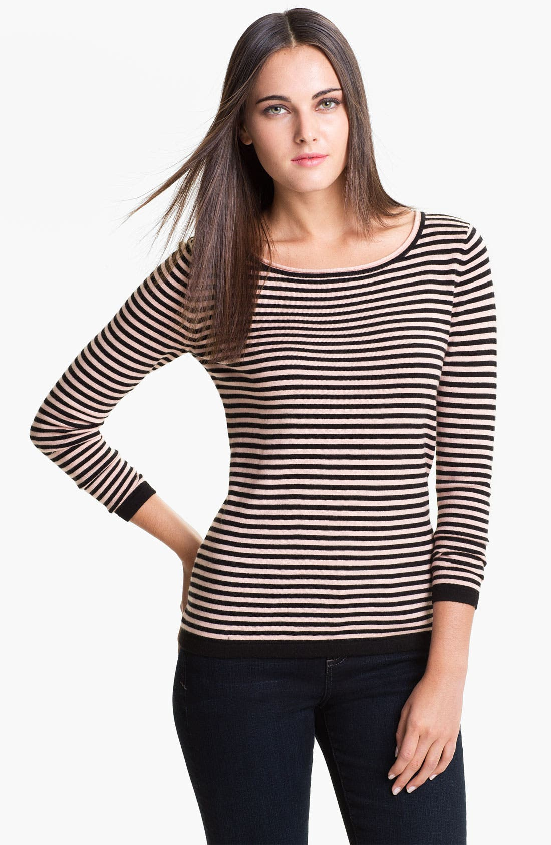 Alternate Image 1 Selected - Vince Camuto Stripe Sweater