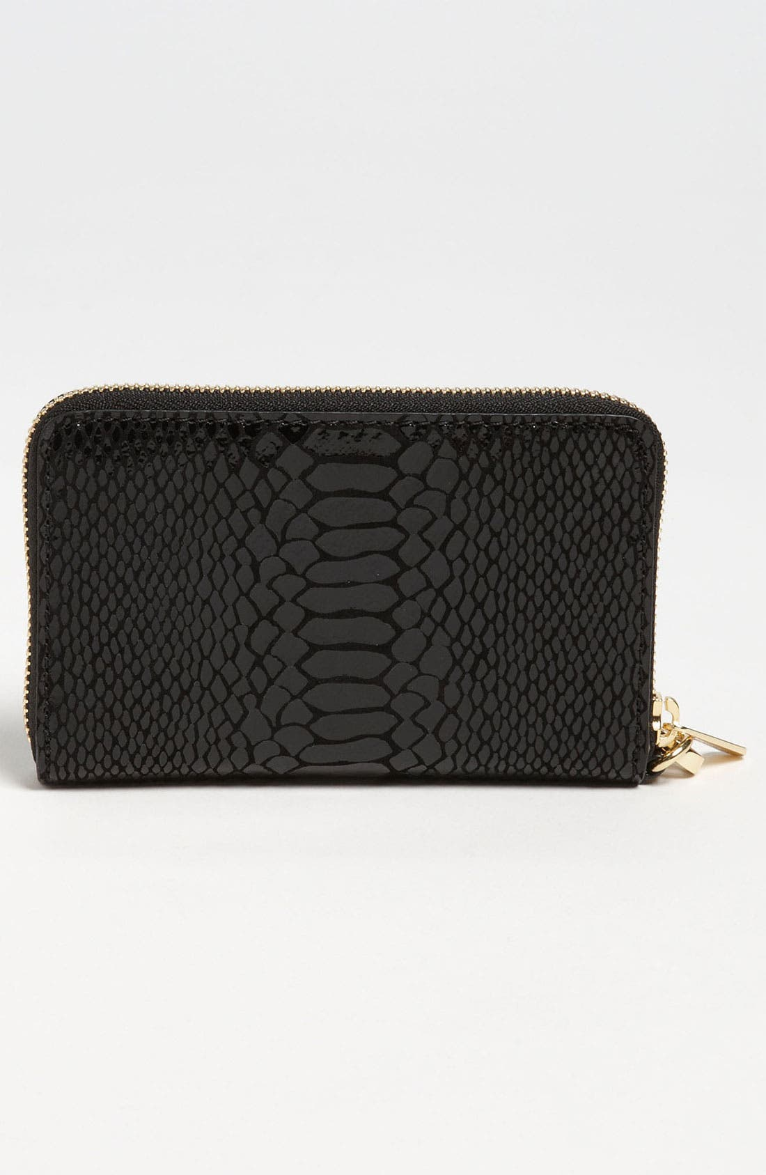 Alternate Image 4  - MICHAEL Michael Kors Python Embossed iPhone Wristlet