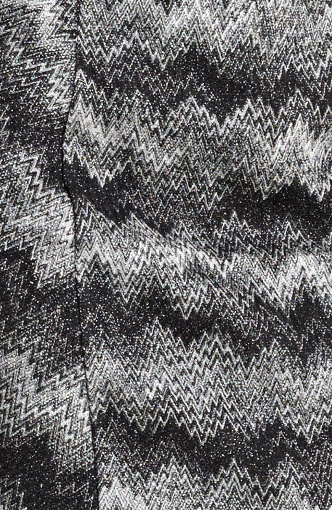 Alternate Image 3  - Missoni Snake Stitch Faux Wrap Dress