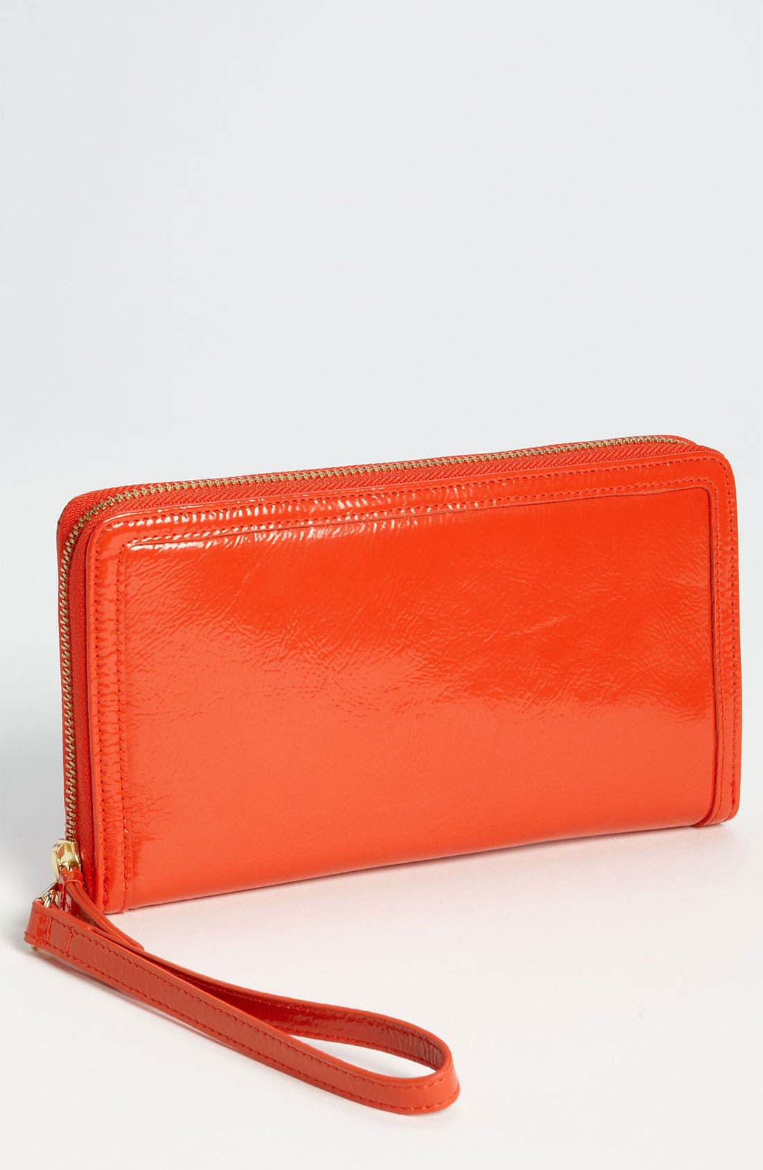 Alternate Image 1 Selected - Halogen® Zip Around Leather Travel Wallet