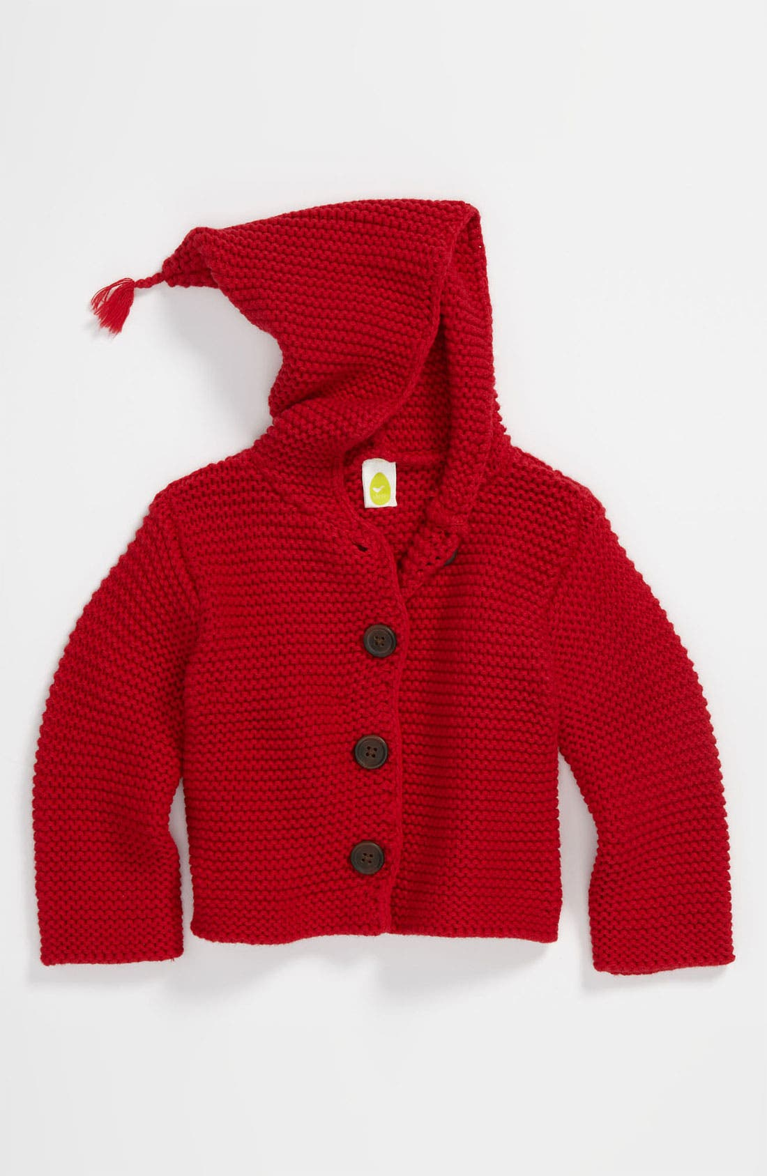 Main Image - Stem Baby 'Lofty' Organic Cotton Hooded Cardigan (Baby Boys) (Nordstrom Exclusive)