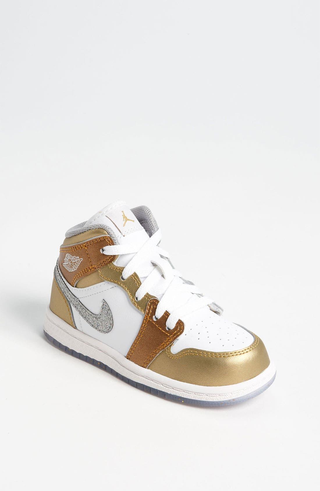 Alternate Image 1 Selected - Nike 'Jordan 1 Phat' Sneaker (Baby, Walker & Toddler)