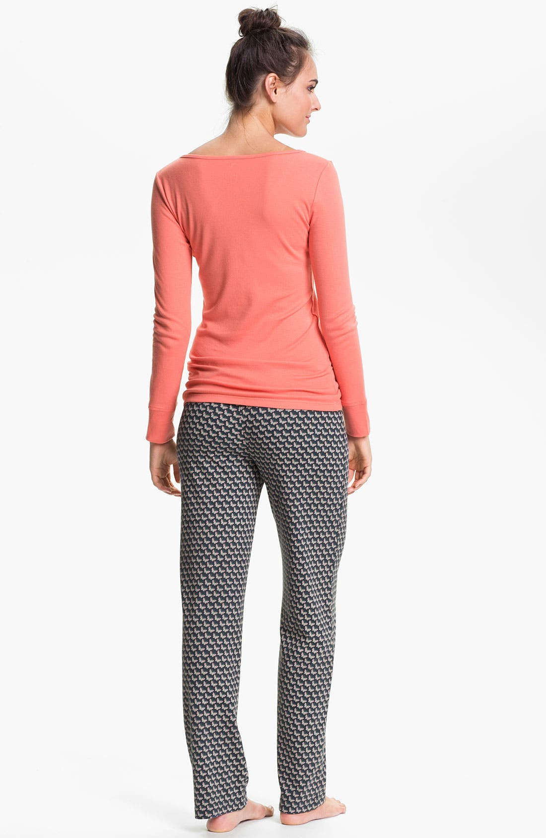 Alternate Image 5  - Jane & Bleecker New York Knit Lounge Pants