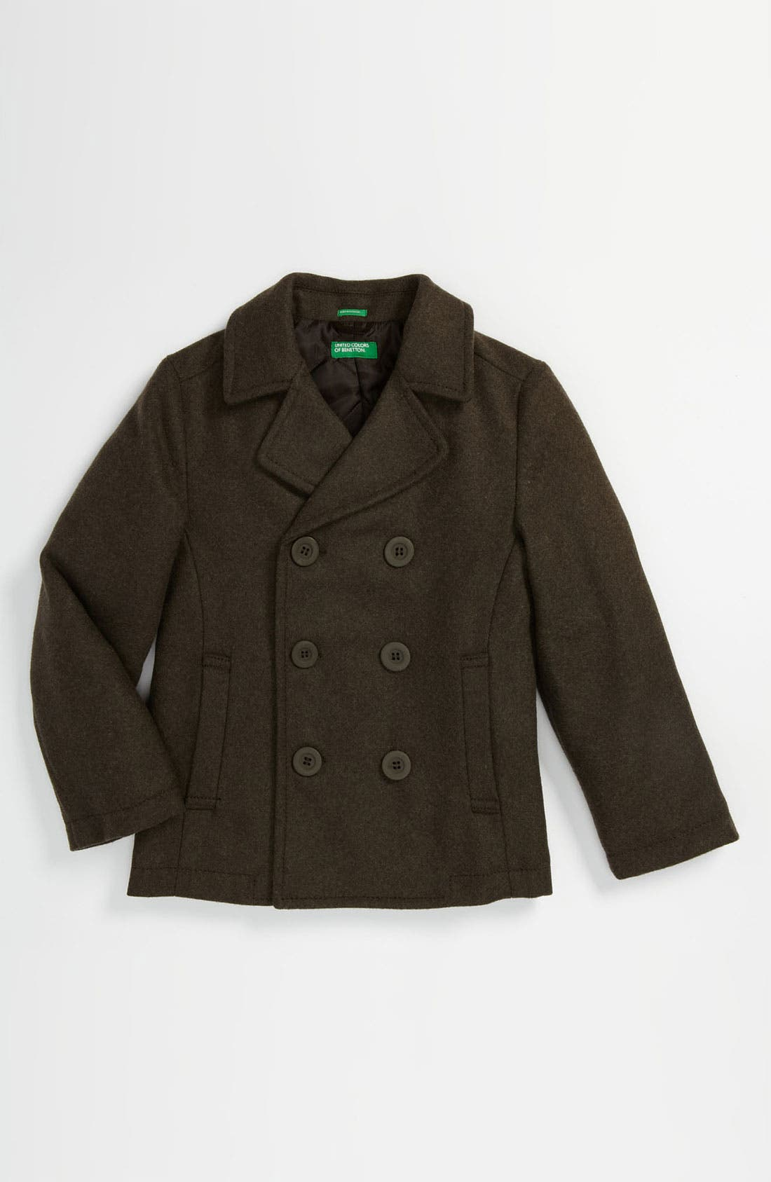 Alternate Image 1 Selected - United Colors of Benetton Kids Peacoat (Little Boys & Big Boys)
