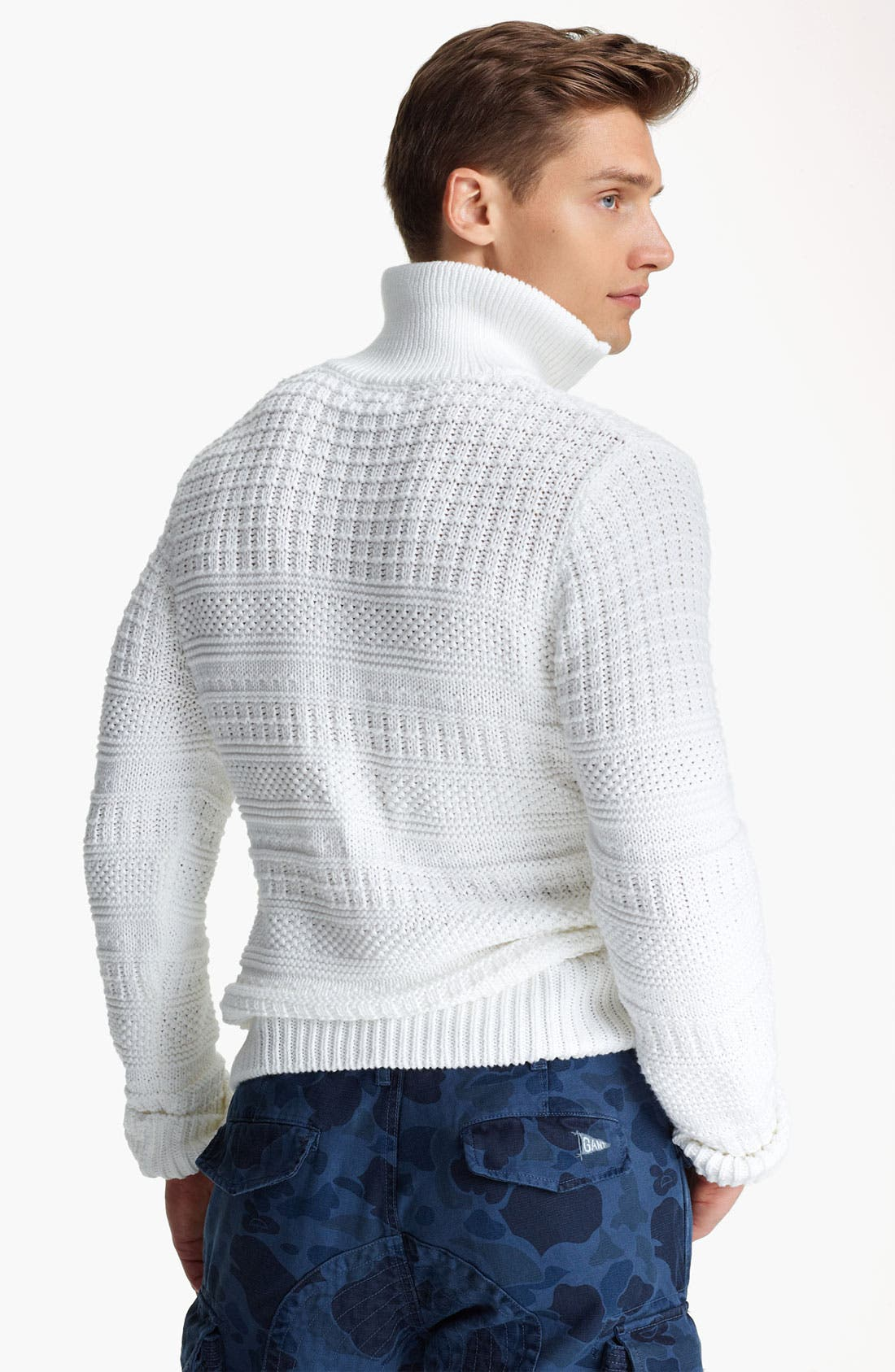Alternate Image 2  - Gant by Michael Bastian Quarter Zip Pullover Sweater