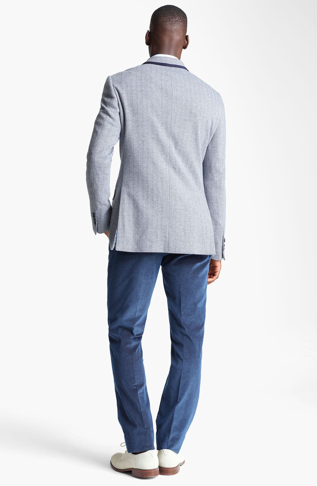 Alternate Image 6  - Etro Herringbone Cotton Blazer
