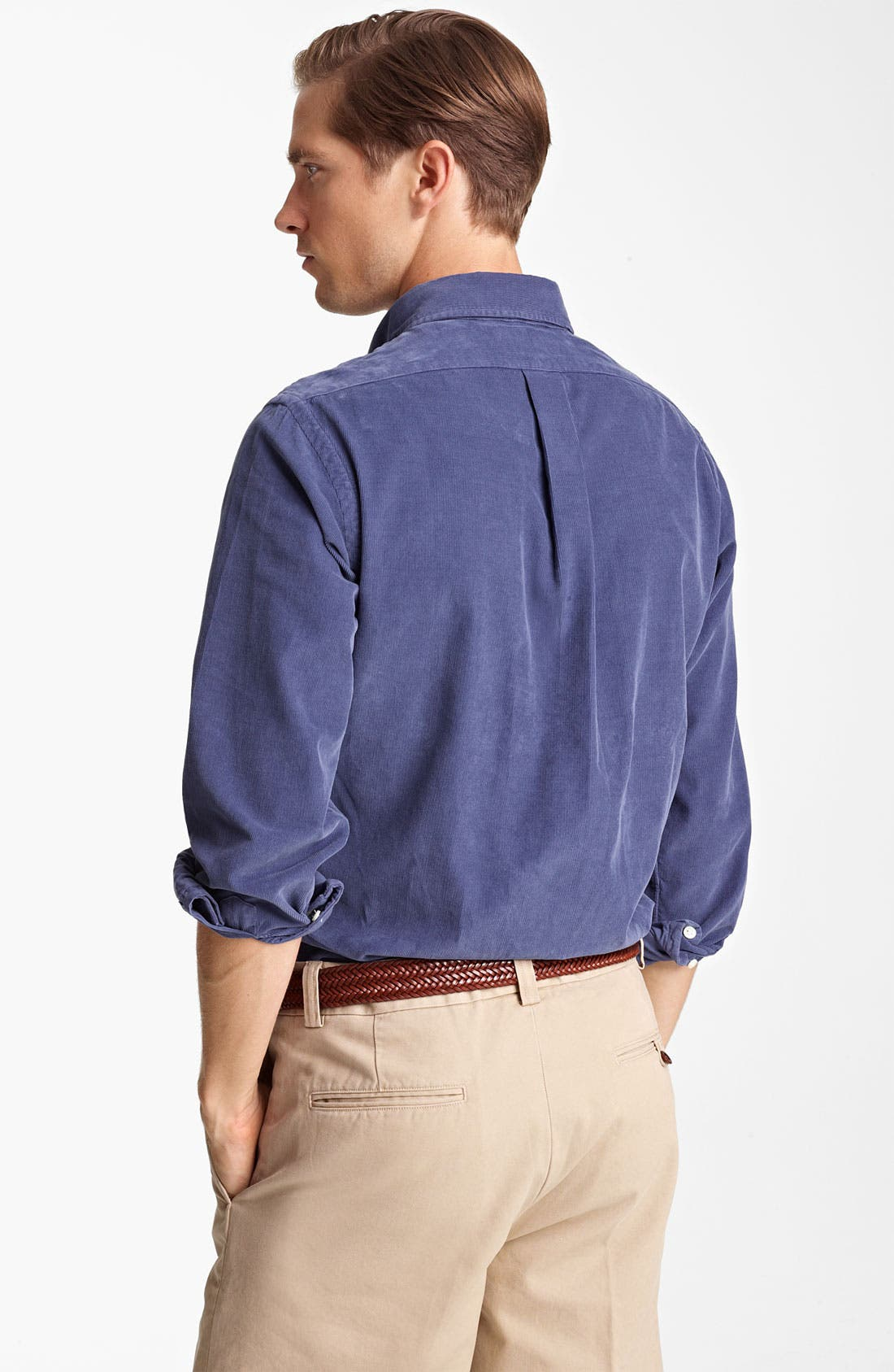 Alternate Image 2  - Polo Ralph Lauren Custom Fit Corduroy Sport Shirt
